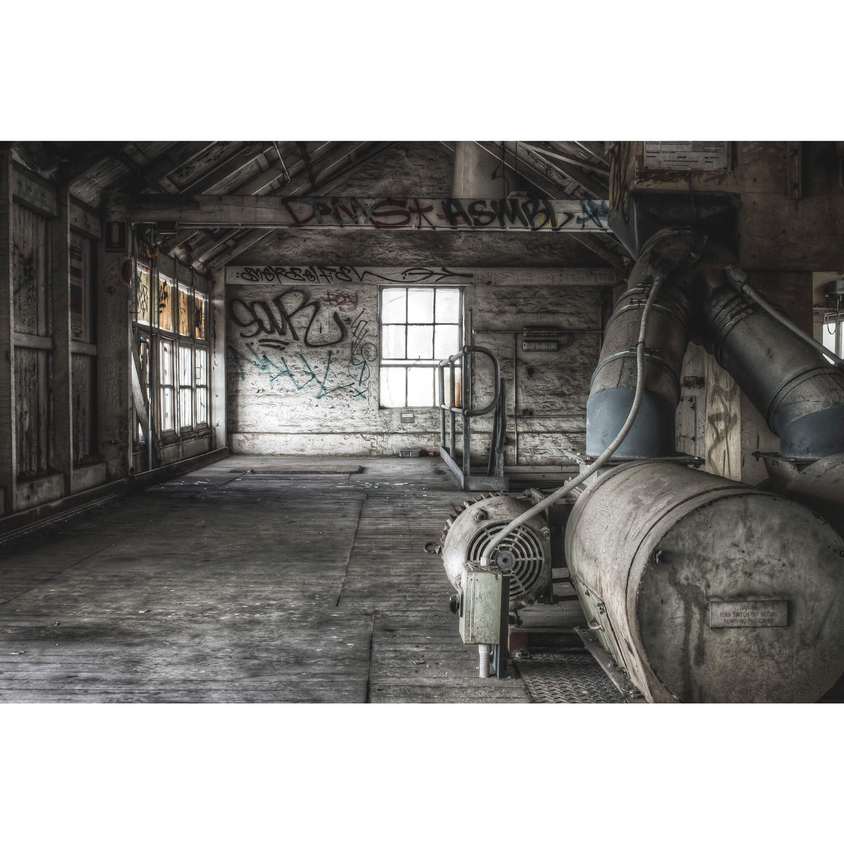 Blower | Mungo Scott Flour Mill Fine Art Print - Lost Collective Shop