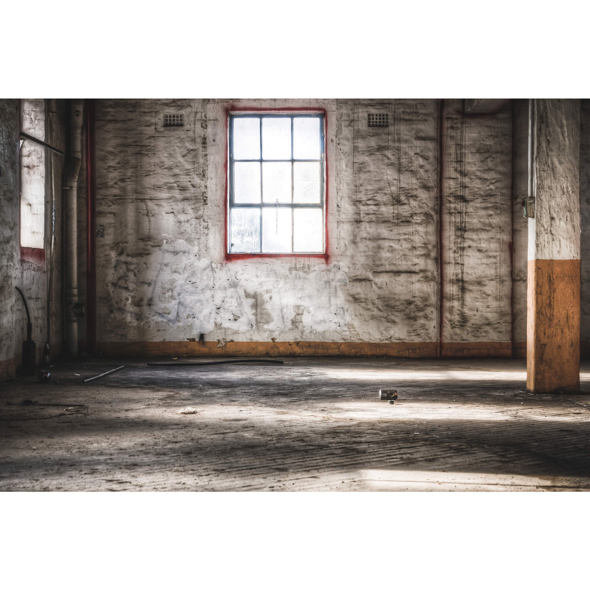 Mill Window | Mungo Scott Flour Mill Fine Art Print - Lost Collective Shop
