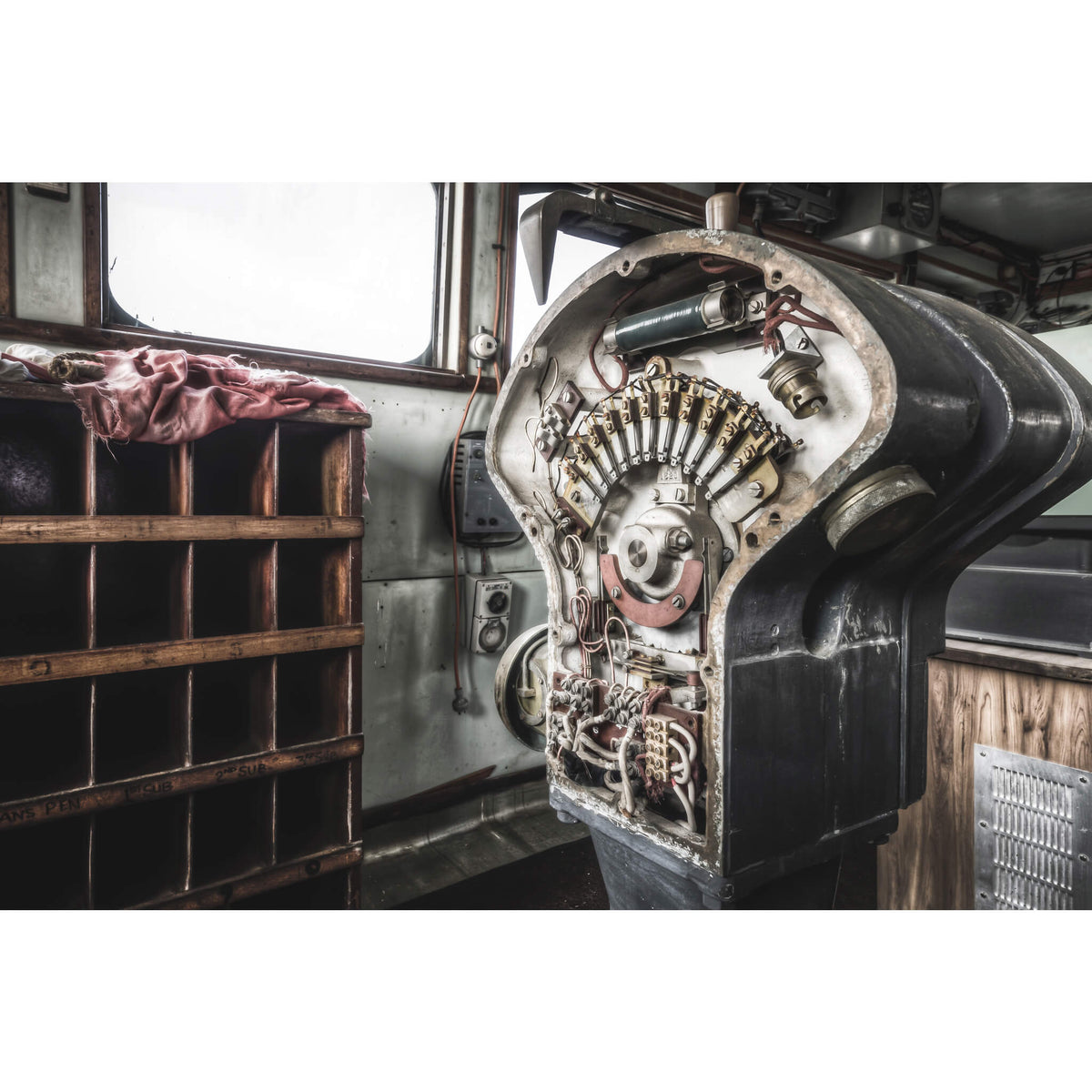 Engine Order Telegraph | MV Cape Don Fine Art Print - Lost Collective Shop