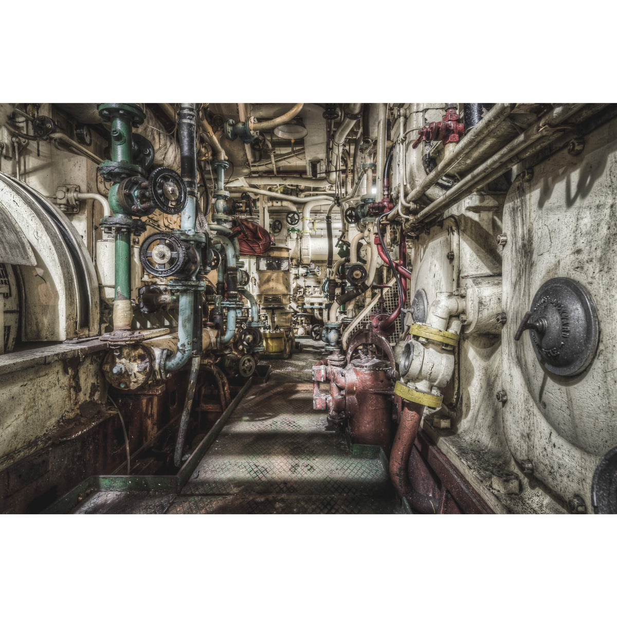 Main Engine | MV Cape Don Fine Art Print - Lost Collective Shop