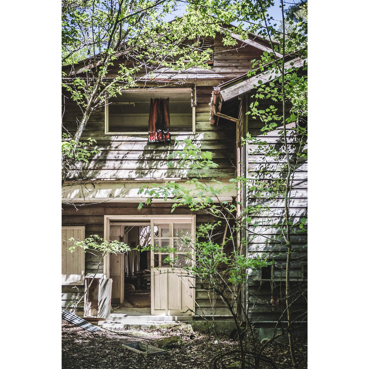 Entrance | Nichitsu Mining Village Fine Art Print - Lost Collective Shop