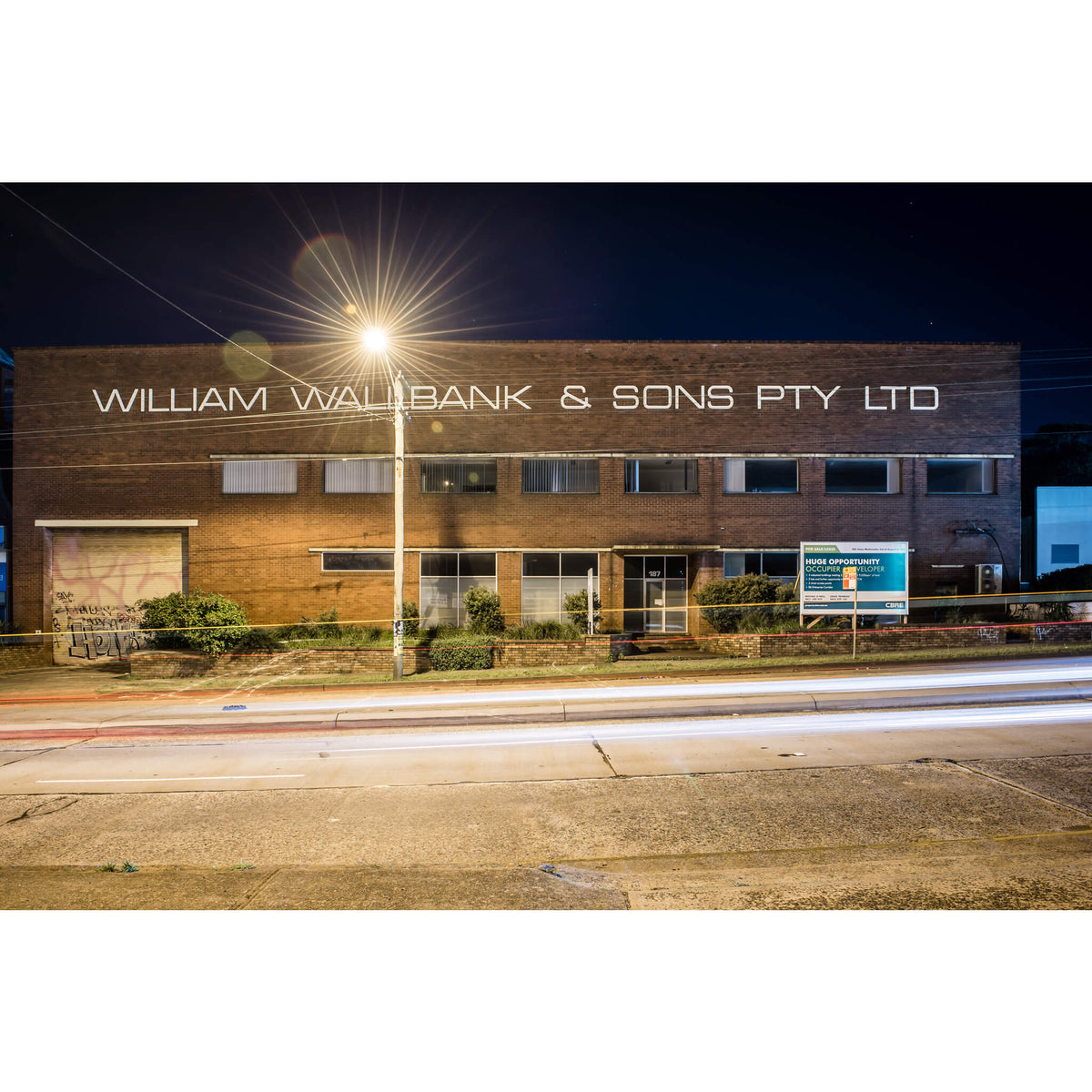 William Wallbank and Sons | Parramatta Road