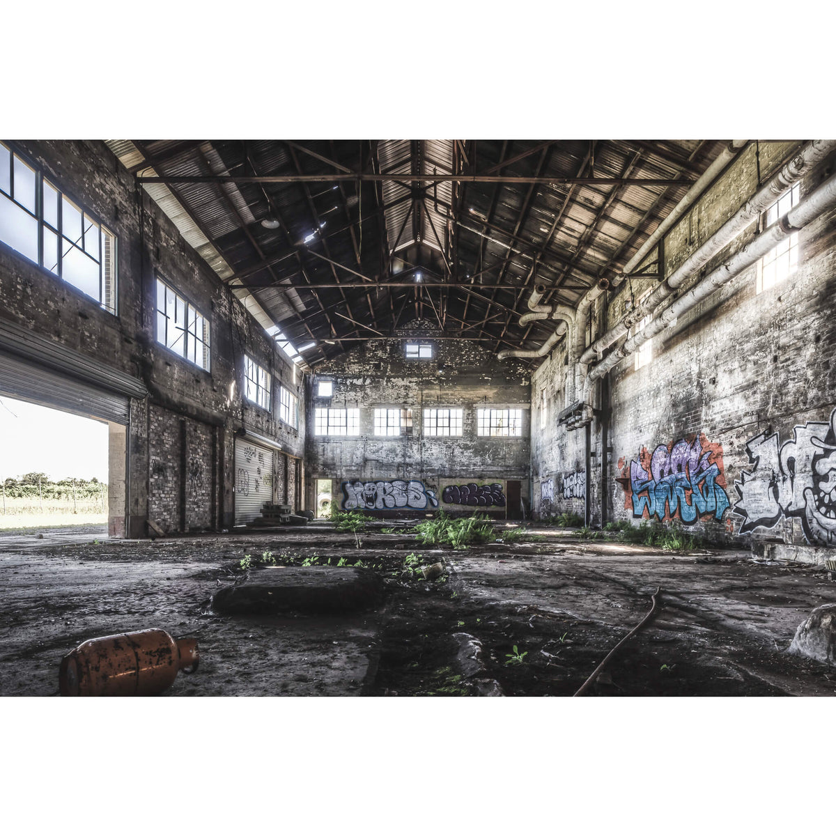 Boiler House | Peters' Ice Cream Factory Fine Art Print - Lost Collective Shop