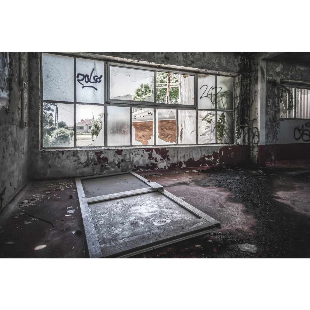 First Floor | Peters' Ice Cream Factory Fine Art Print - Lost Collective Shop