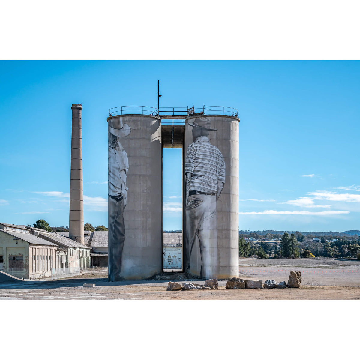 Between Silos | Portland Cement Works