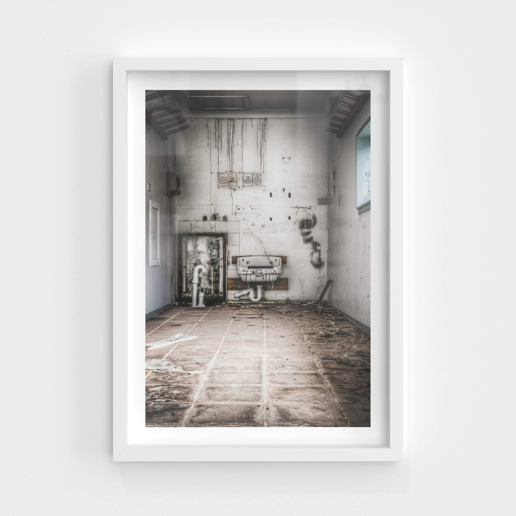 Cleaners Room | Queen Victoria Sanitorium Fine Art Print - Lost Collective Shop