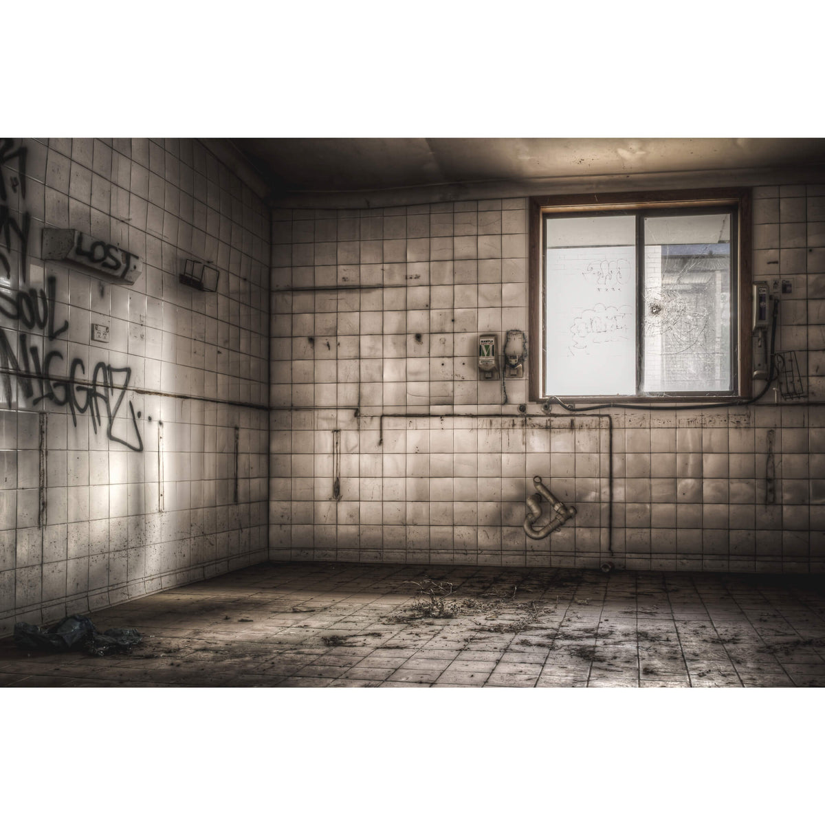 Laundry | Queen Victoria Sanitorium Fine Art Print - Lost Collective Shop