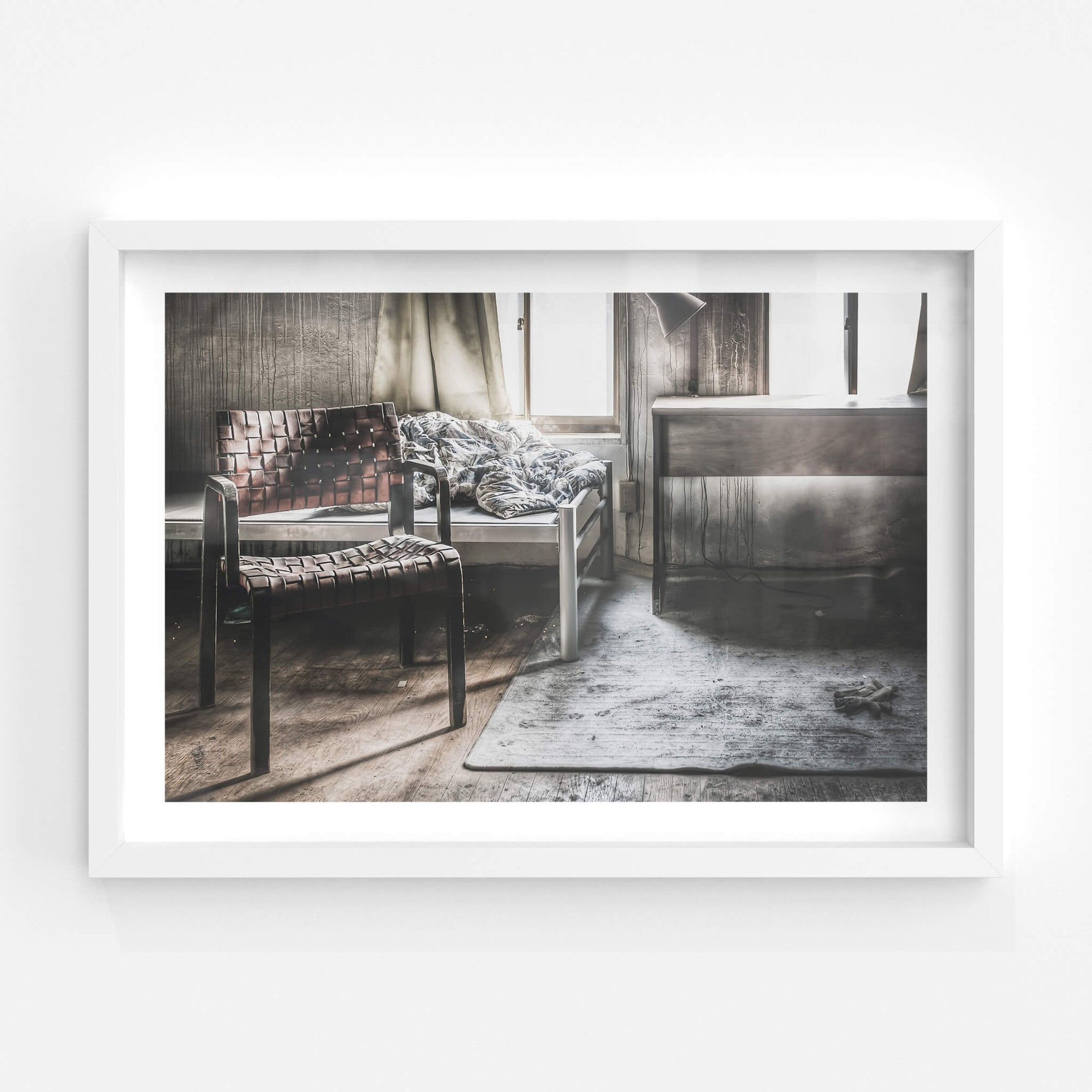 Bedroom Chair | Seika Dormitory Fine Art Print - Lost Collective Shop