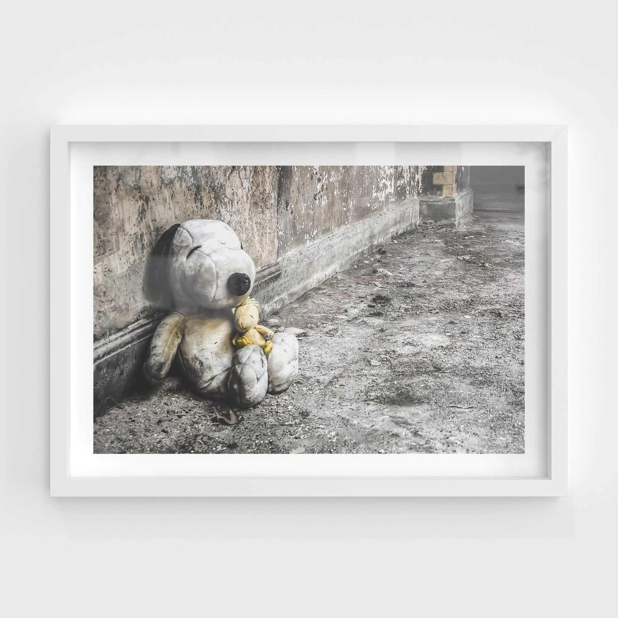 Snoopy and Woodstock | Seika Dormitory Fine Art Print - Lost Collective Shop
