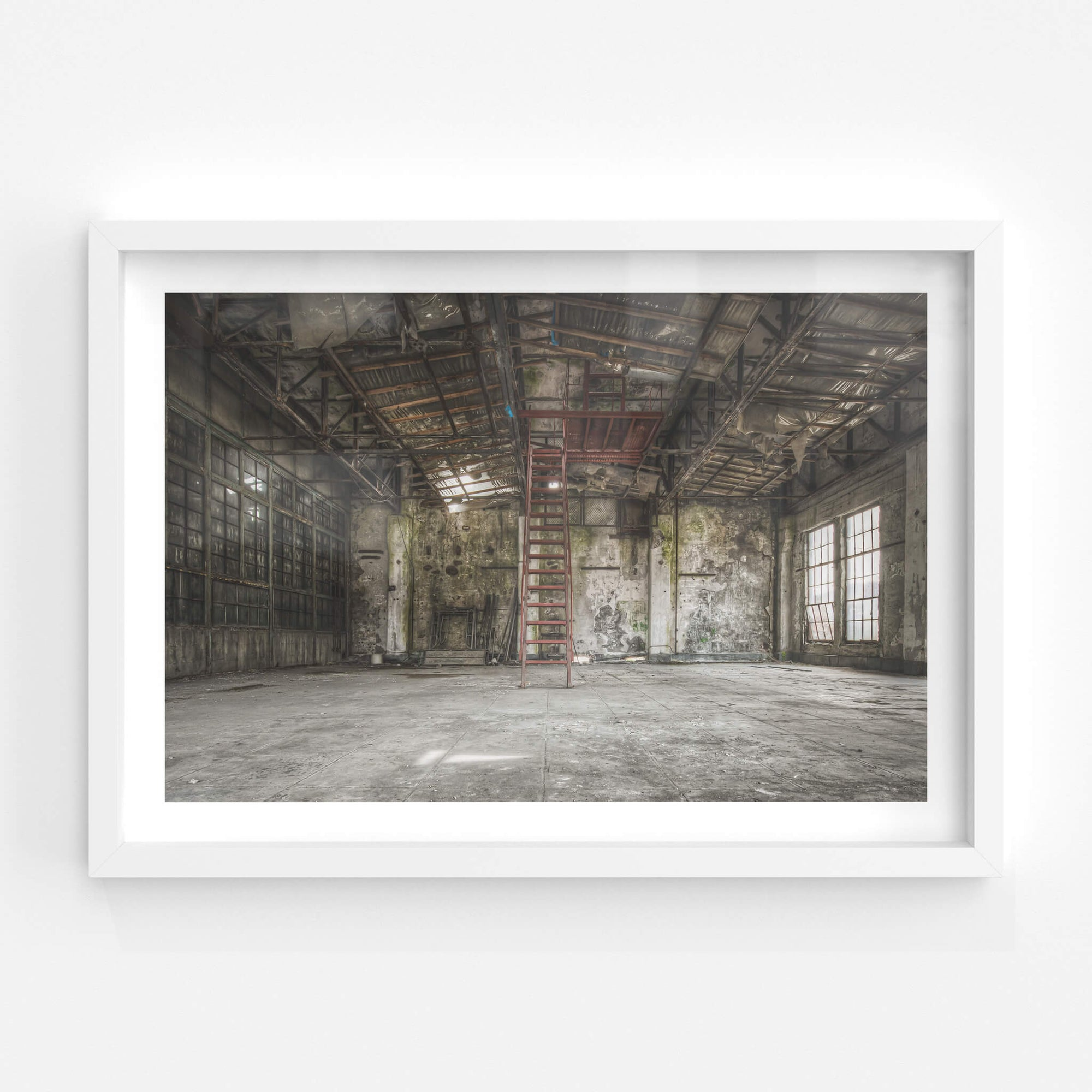 Control Room Mezzanine | Shimizusawa Thermal Power Plant Fine Art Print - Lost Collective Shop