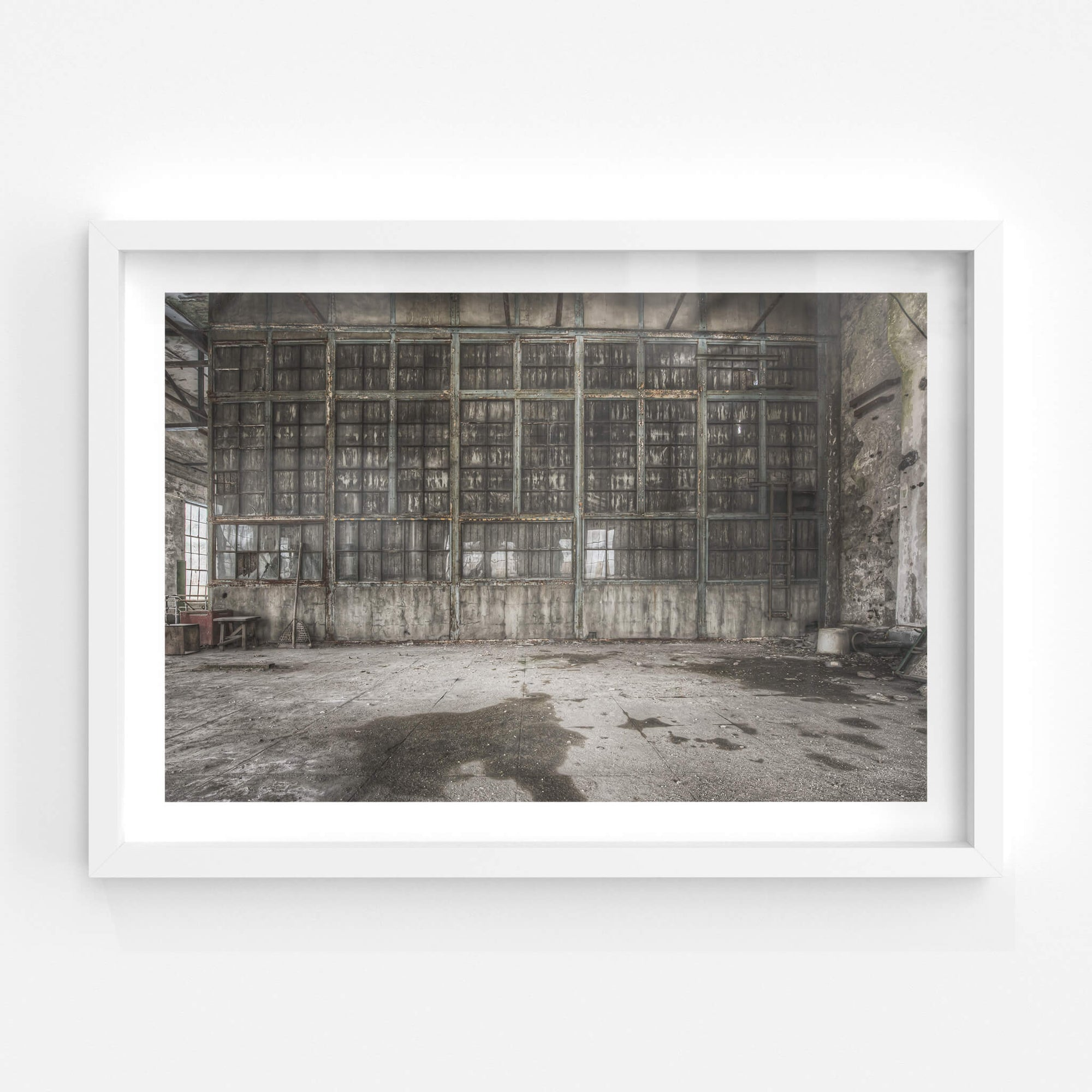 Control Room Window | Shimizusawa Thermal Power Plant Fine Art Print - Lost Collective Shop