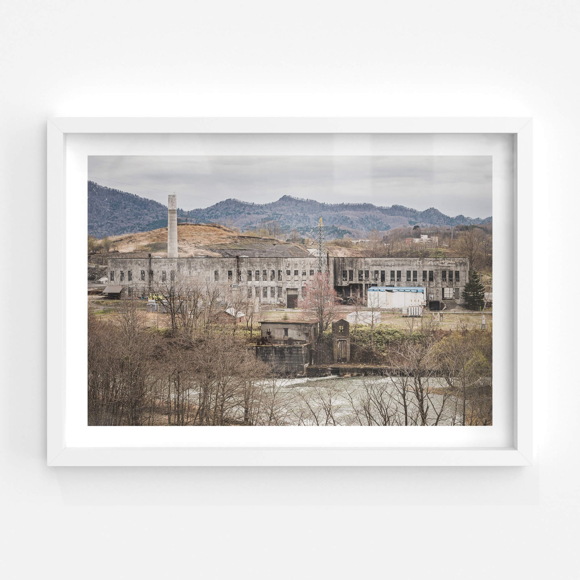 Shimizusawa Power Plant | Shimizusawa Thermal Power Plant Fine Art Print - Lost Collective Shop