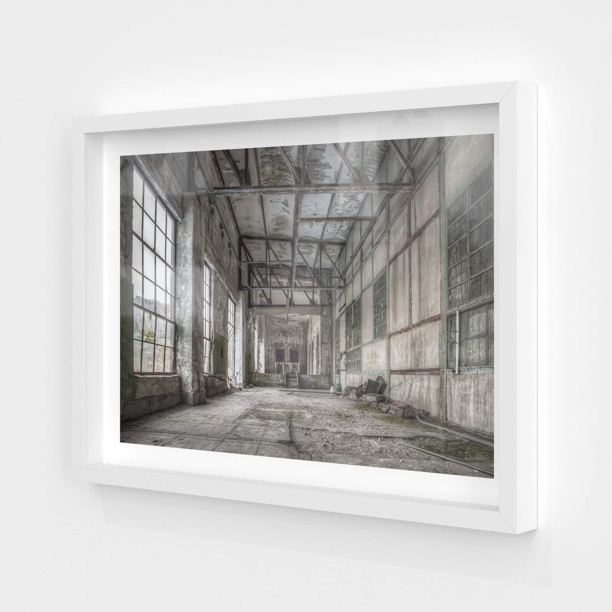 South East Control Room | Shimizusawa Thermal Power Plant Fine Art Print - Lost Collective Shop