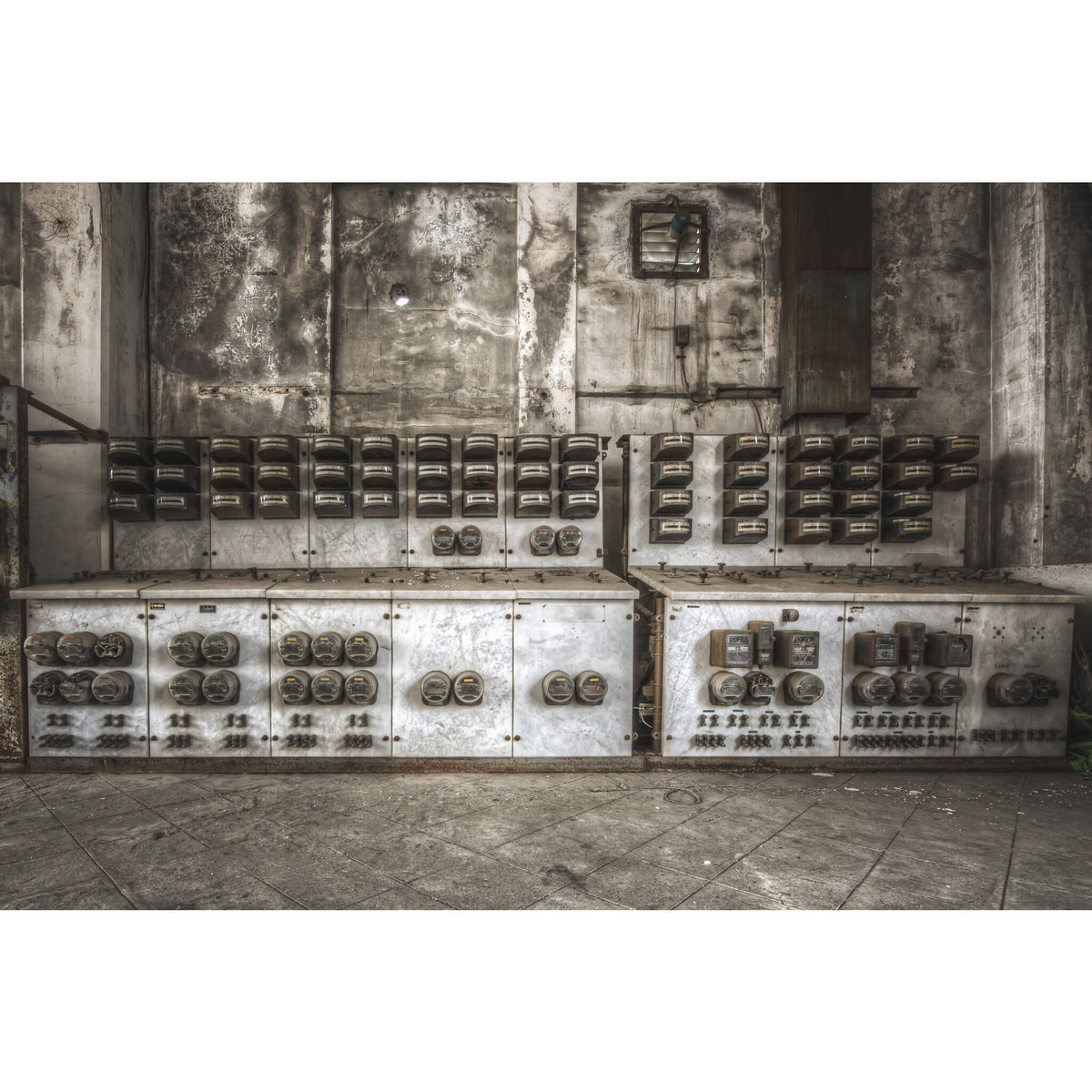 Switchboard | Shimizusawa Thermal Power Plant Fine Art Print - Lost Collective Shop