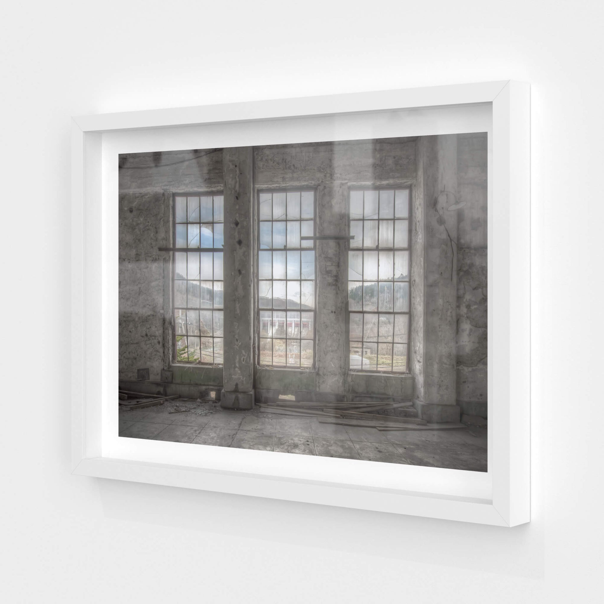 Three Windows | Shimizusawa Thermal Power Plant Fine Art Print - Lost Collective Shop