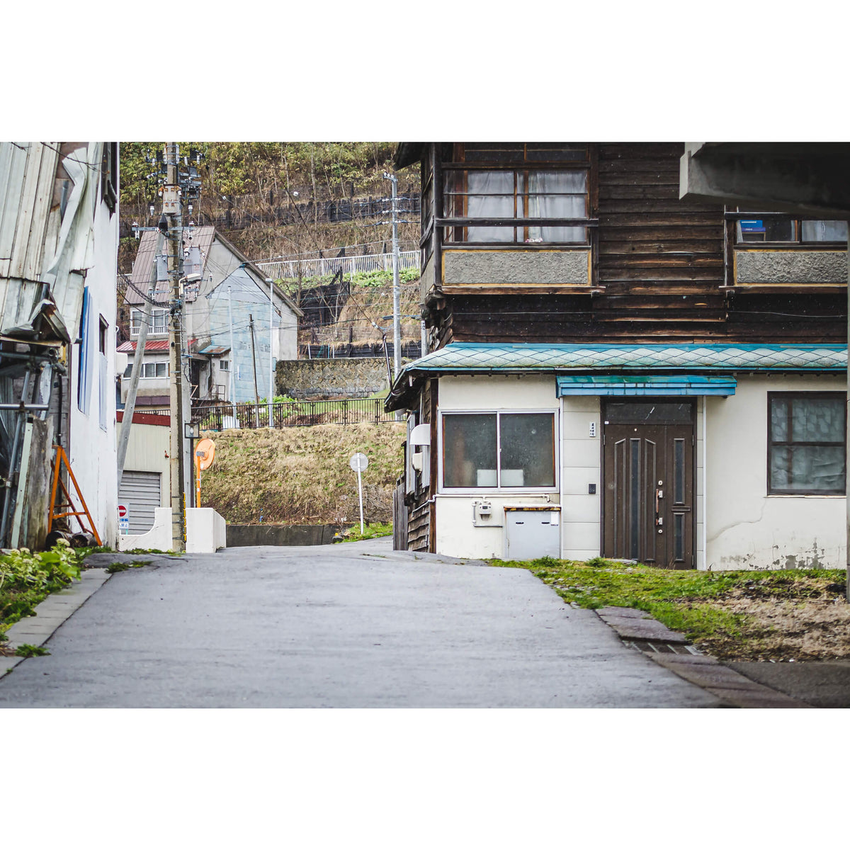 Yubari Backstreet | Streetscapes of Yubari