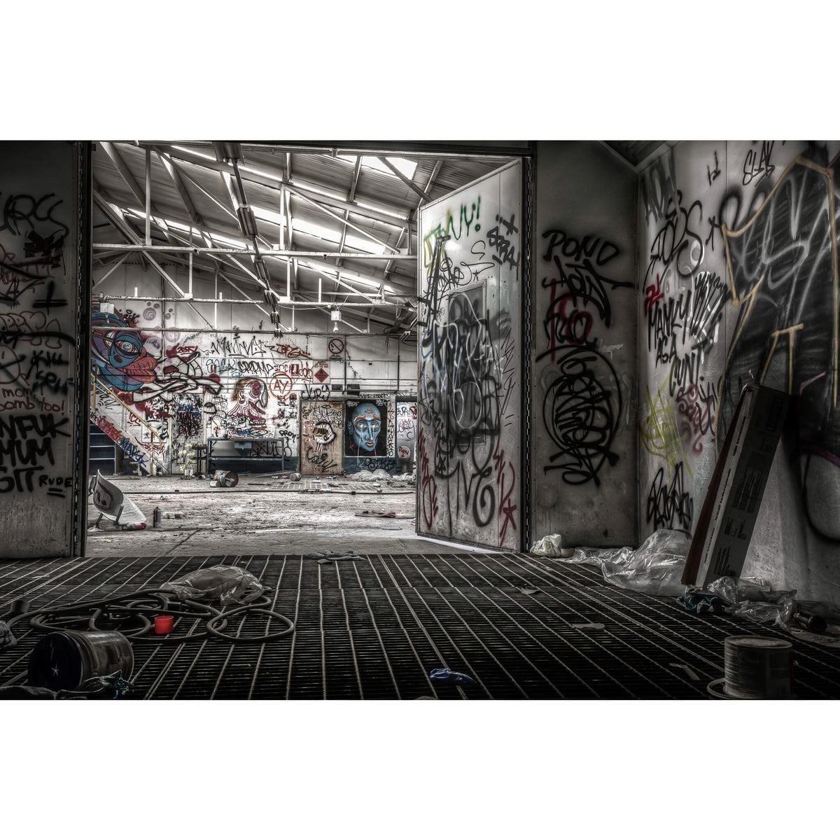 Spray Booth | Sundell Holden Fine Art Print - Lost Collective Shop