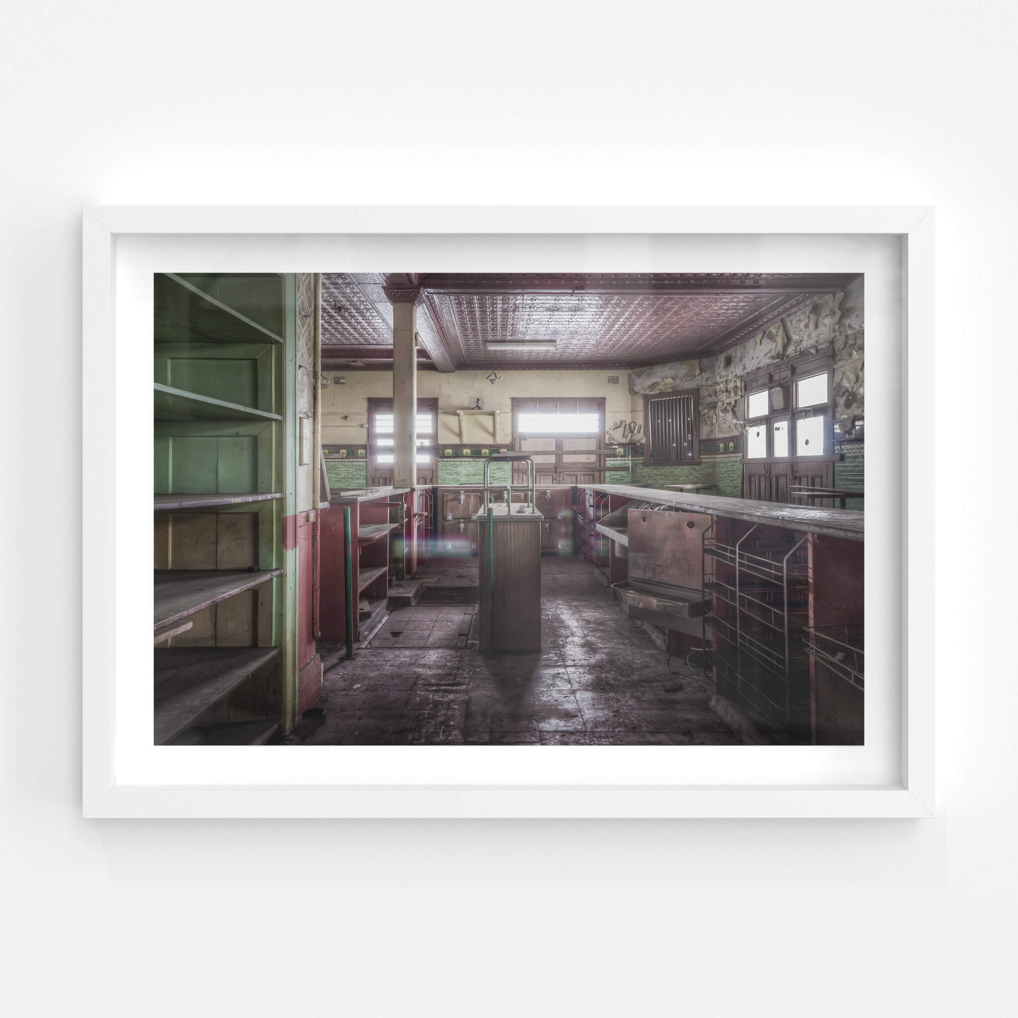 Bar Area | Terminus Hotel Fine Art Print - Lost Collective Shop