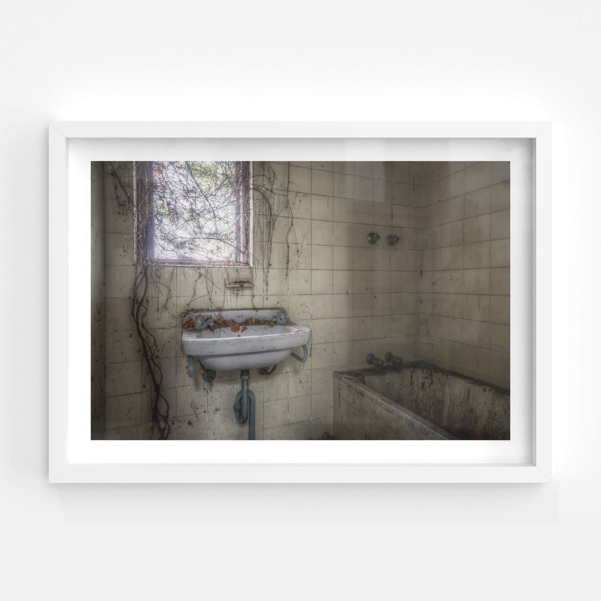 Bathroom | Terminus Hotel Fine Art Print - Lost Collective Shop