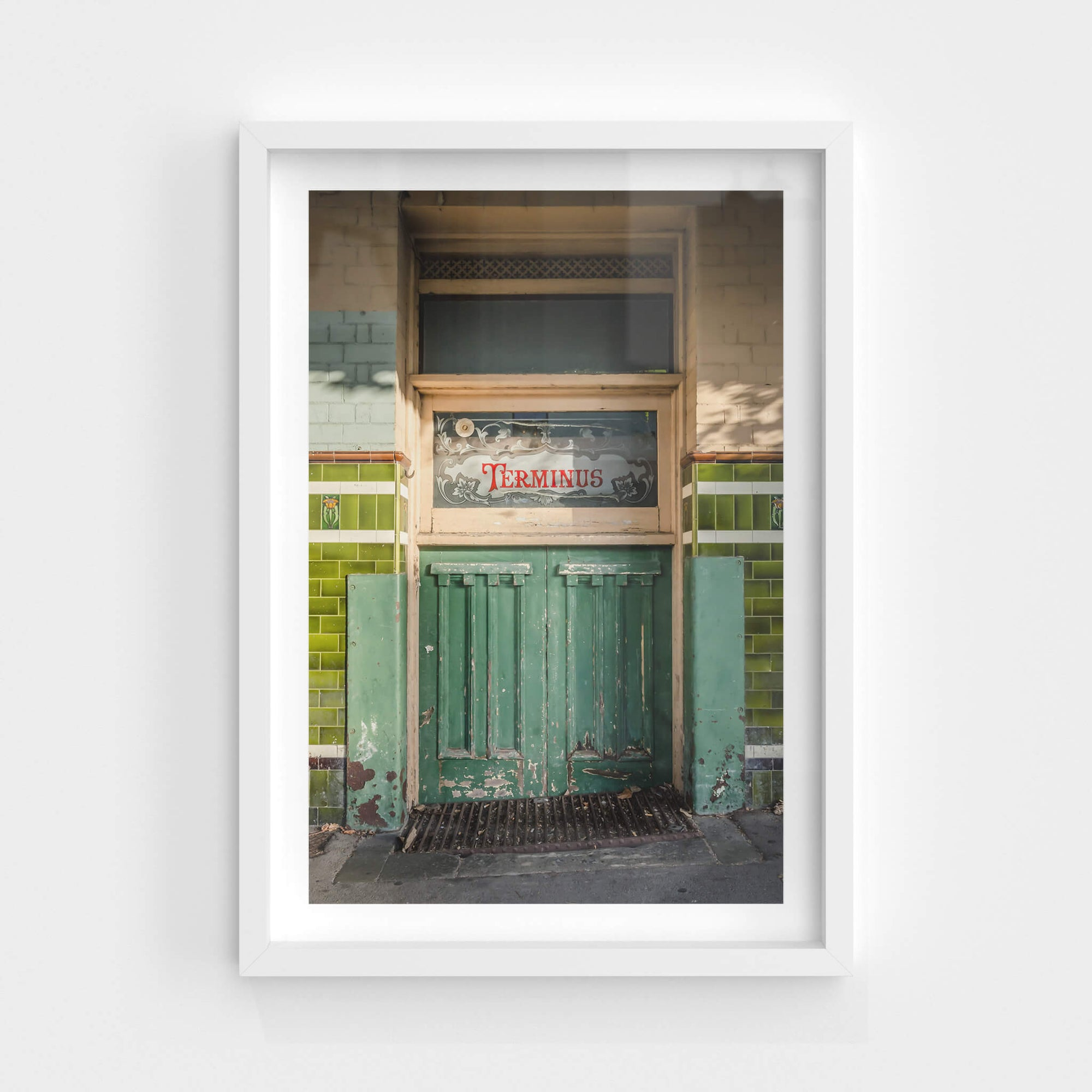 Cellar Entry | Terminus Hotel Fine Art Print - Lost Collective Shop