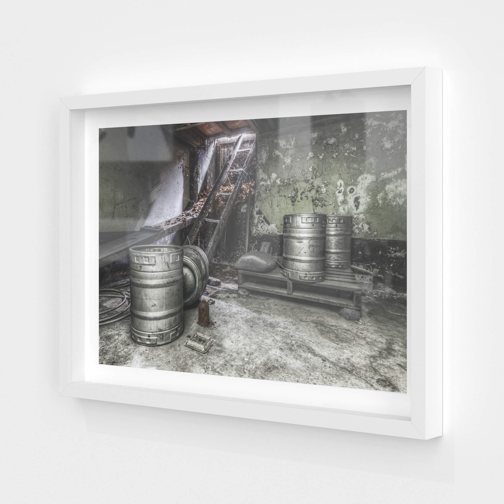Cellar | Terminus Hotel Fine Art Print - Lost Collective Shop