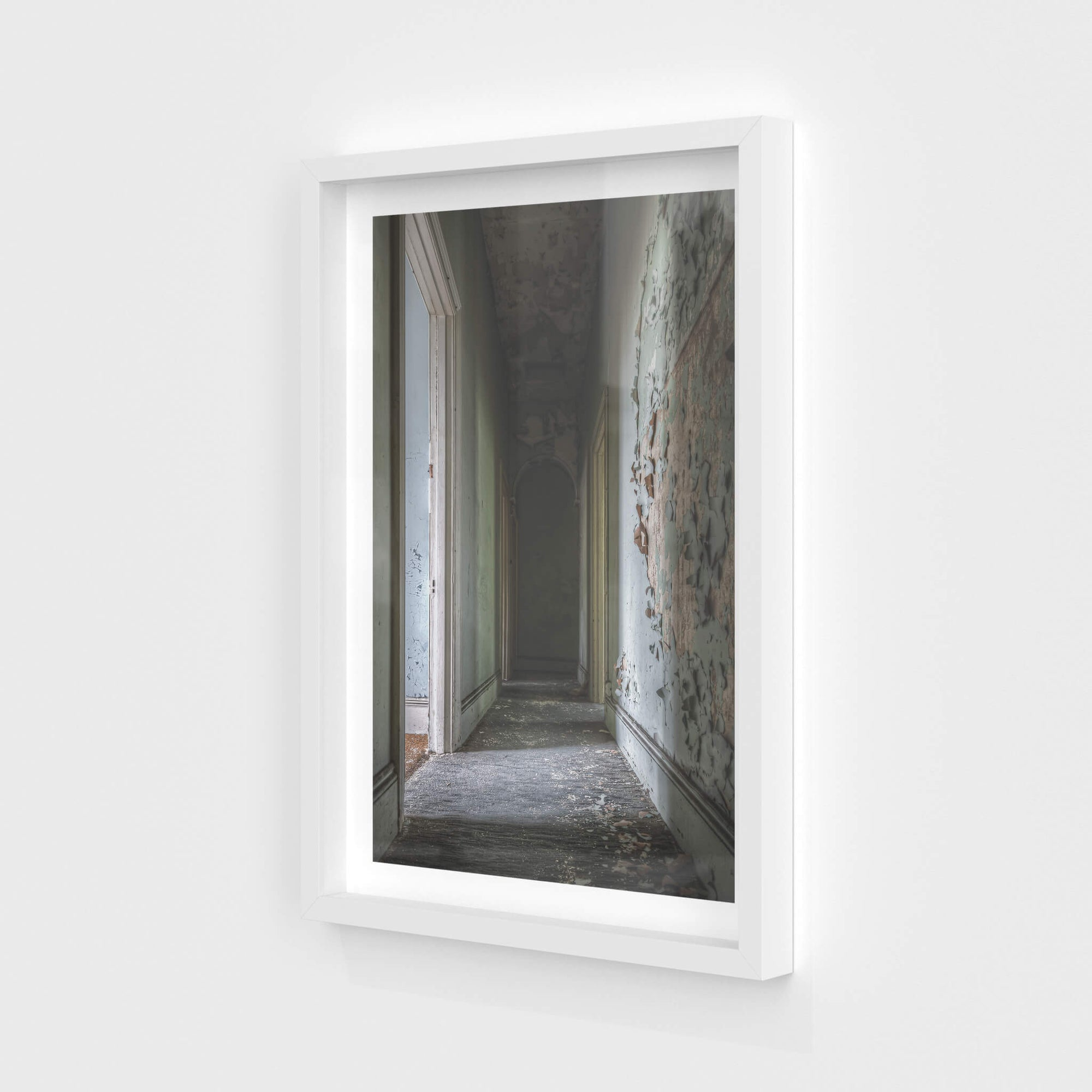 Guest Room Hallway | Terminus Hotel Fine Art Print - Lost Collective Shop