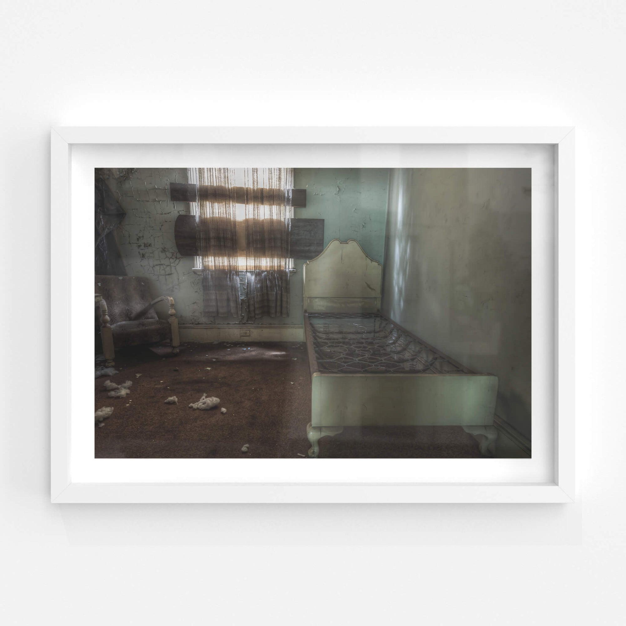 Guest Room | Terminus Hotel Fine Art Print - Lost Collective Shop