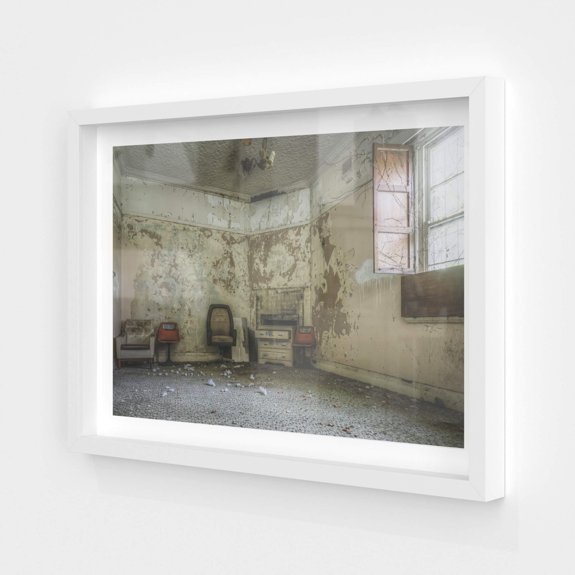 Main Guest Room | Terminus Hotel Fine Art Print - Lost Collective Shop