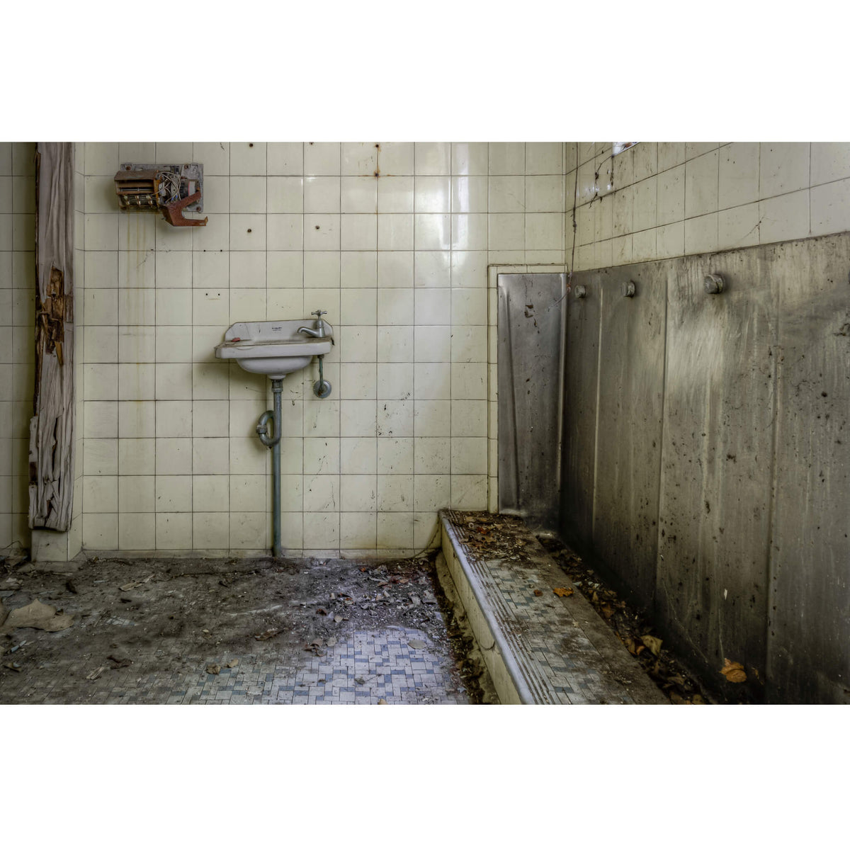 Mens Bathroom | Terminus Hotel Fine Art Print - Lost Collective Shop