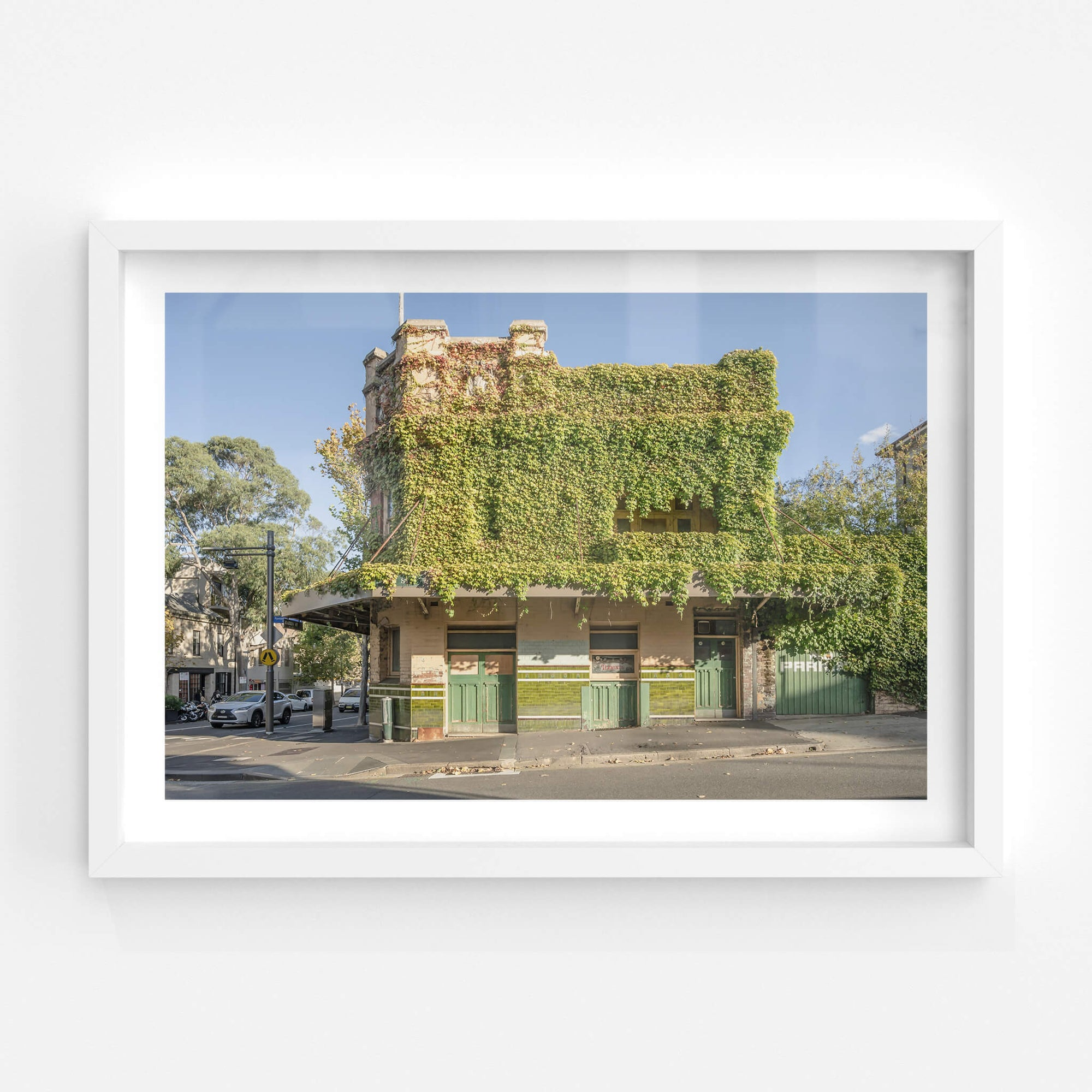North Facade | Terminus Hotel Fine Art Print - Lost Collective Shop