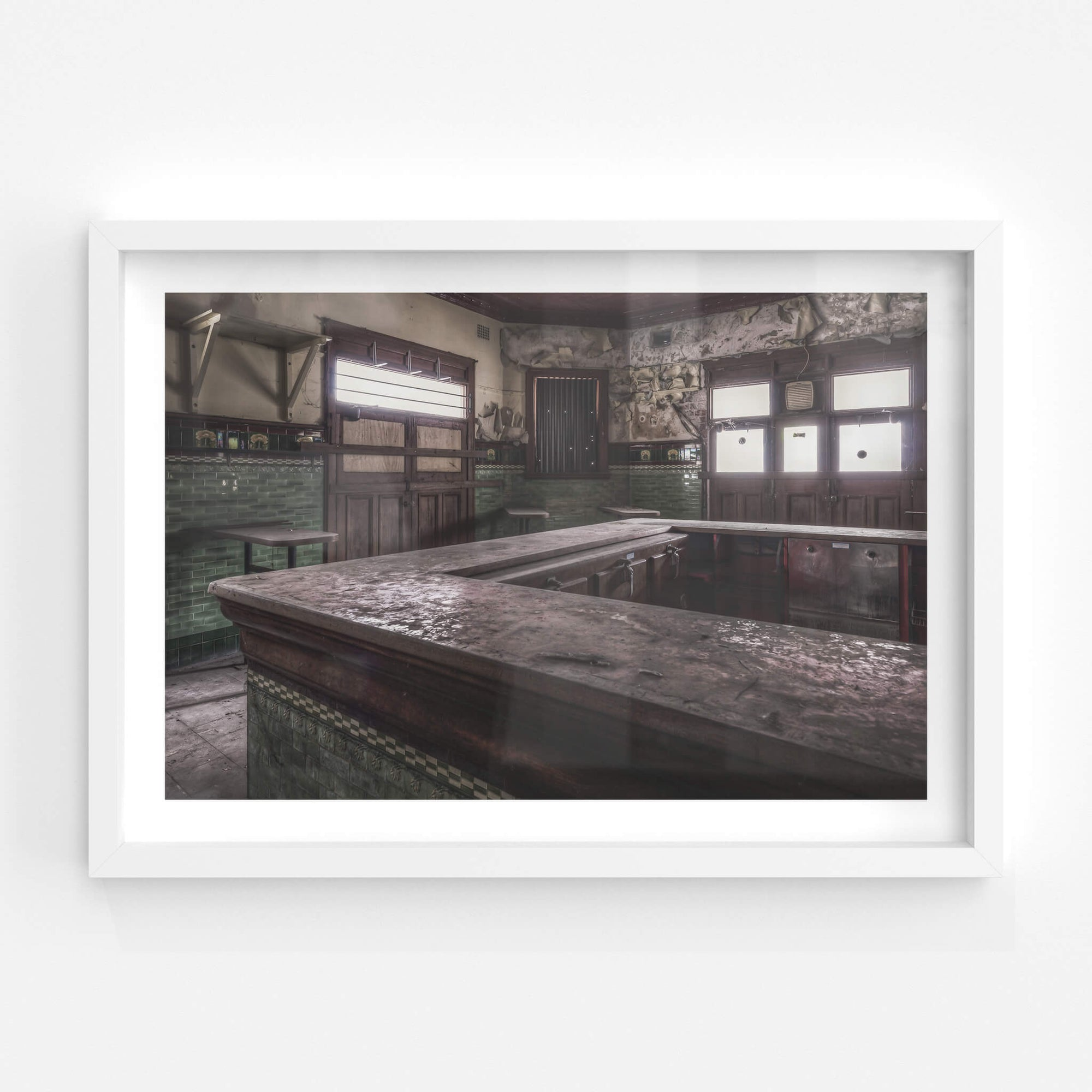Stageside Bar | Terminus Hotel Fine Art Print - Lost Collective Shop