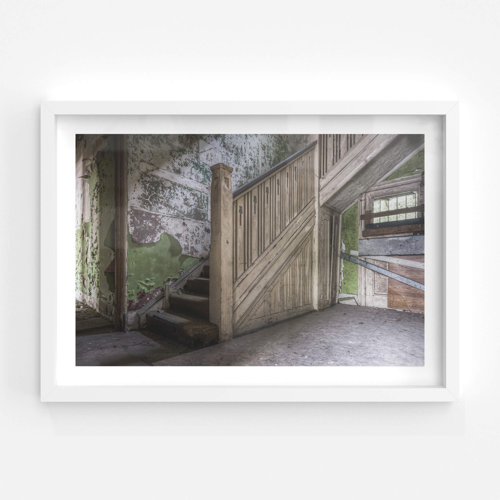 Staircase | Terminus Hotel Fine Art Print - Lost Collective Shop