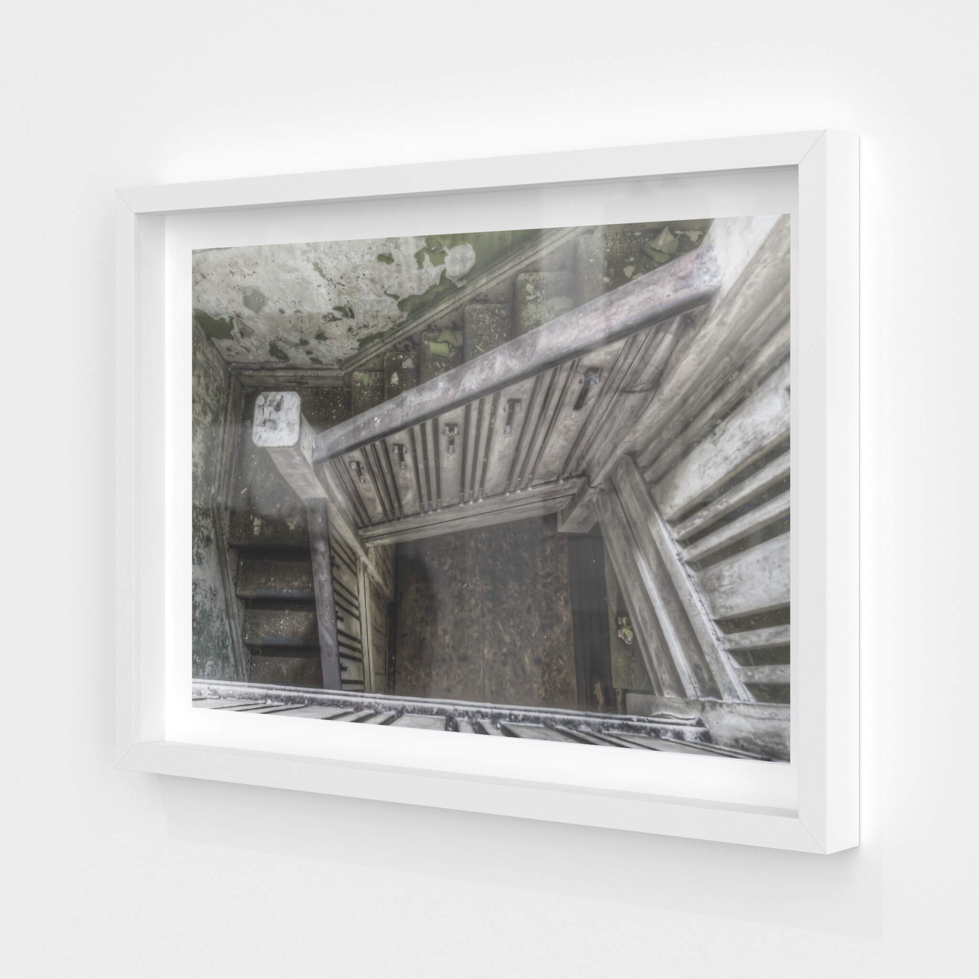 Stairwell | Terminus Hotel Fine Art Print - Lost Collective Shop