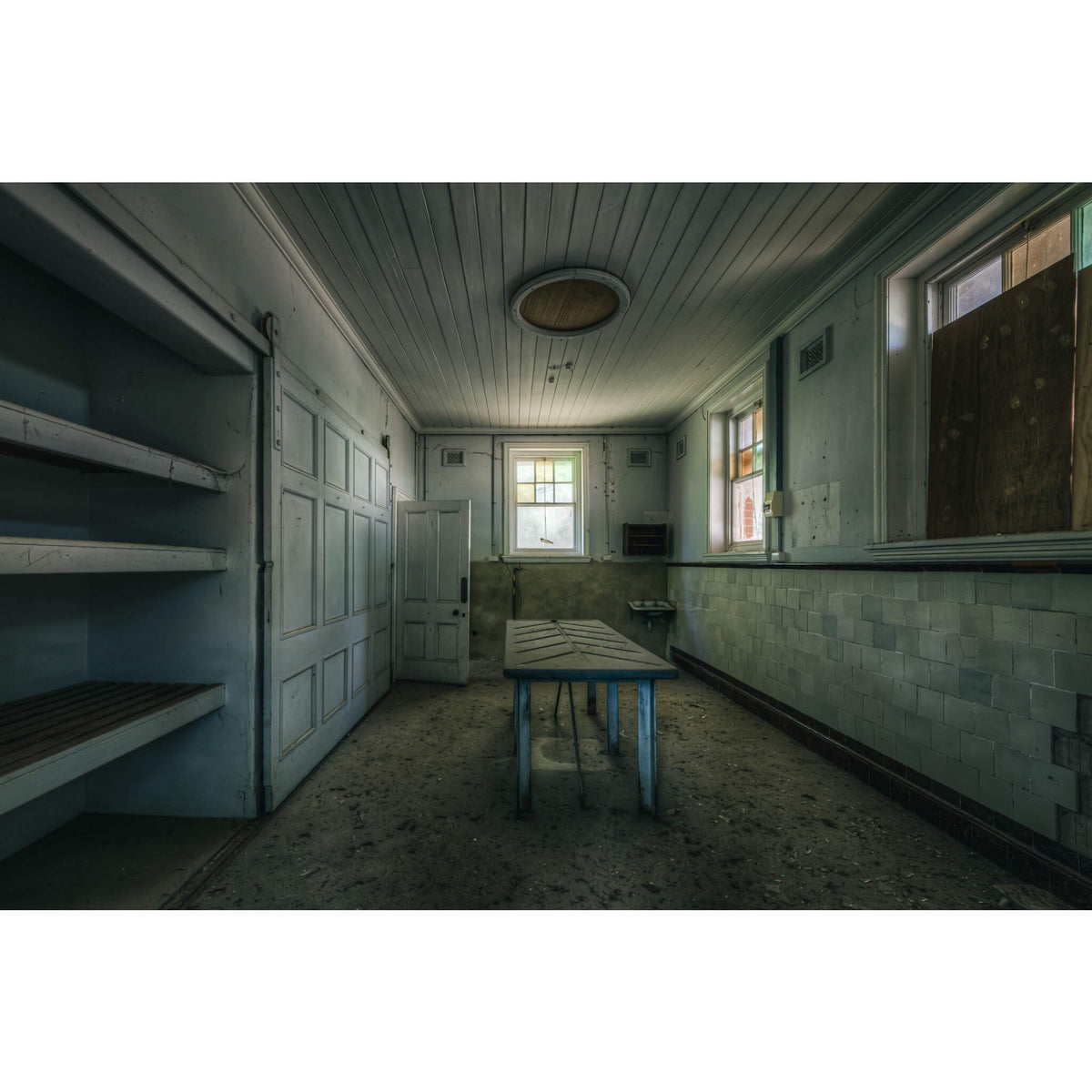 Autopsy Table | The Asylum Fine Art Print - Lost Collective Shop