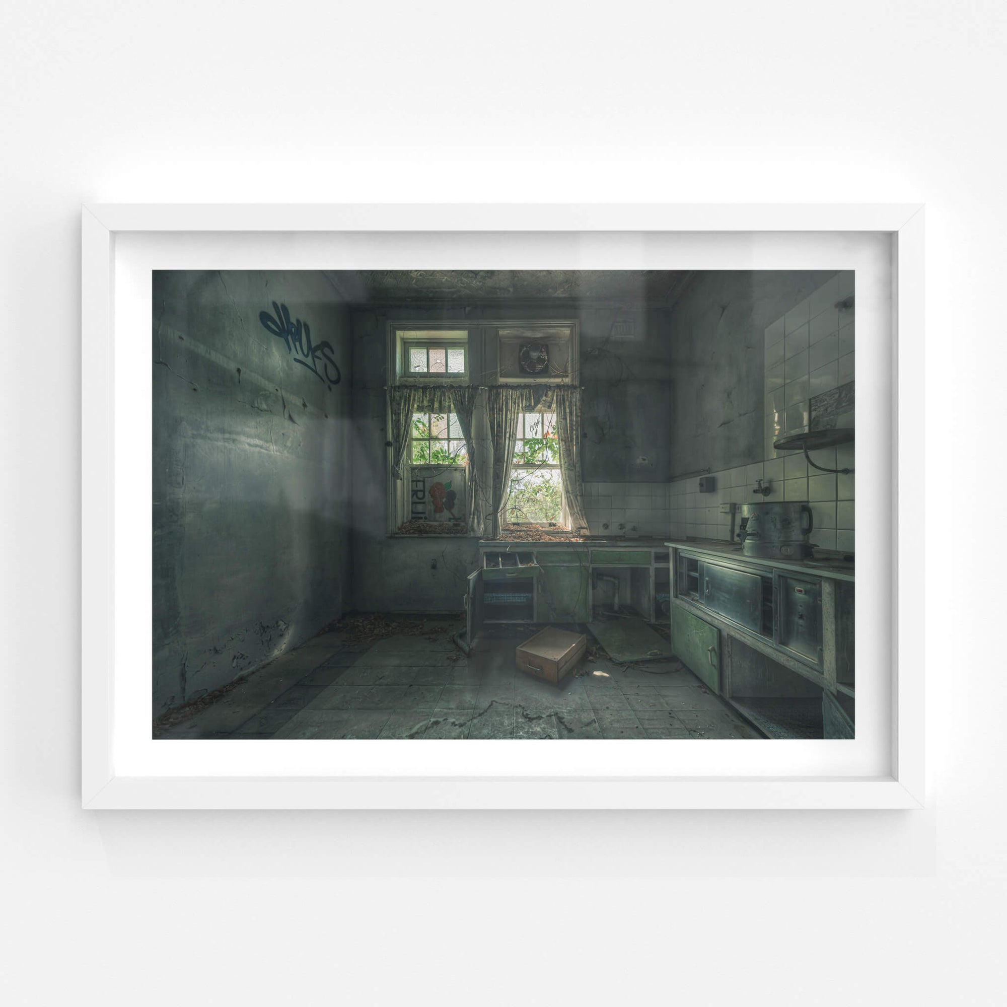 The Back Kitchen | The Asylum Fine Art Print - Lost Collective Shop