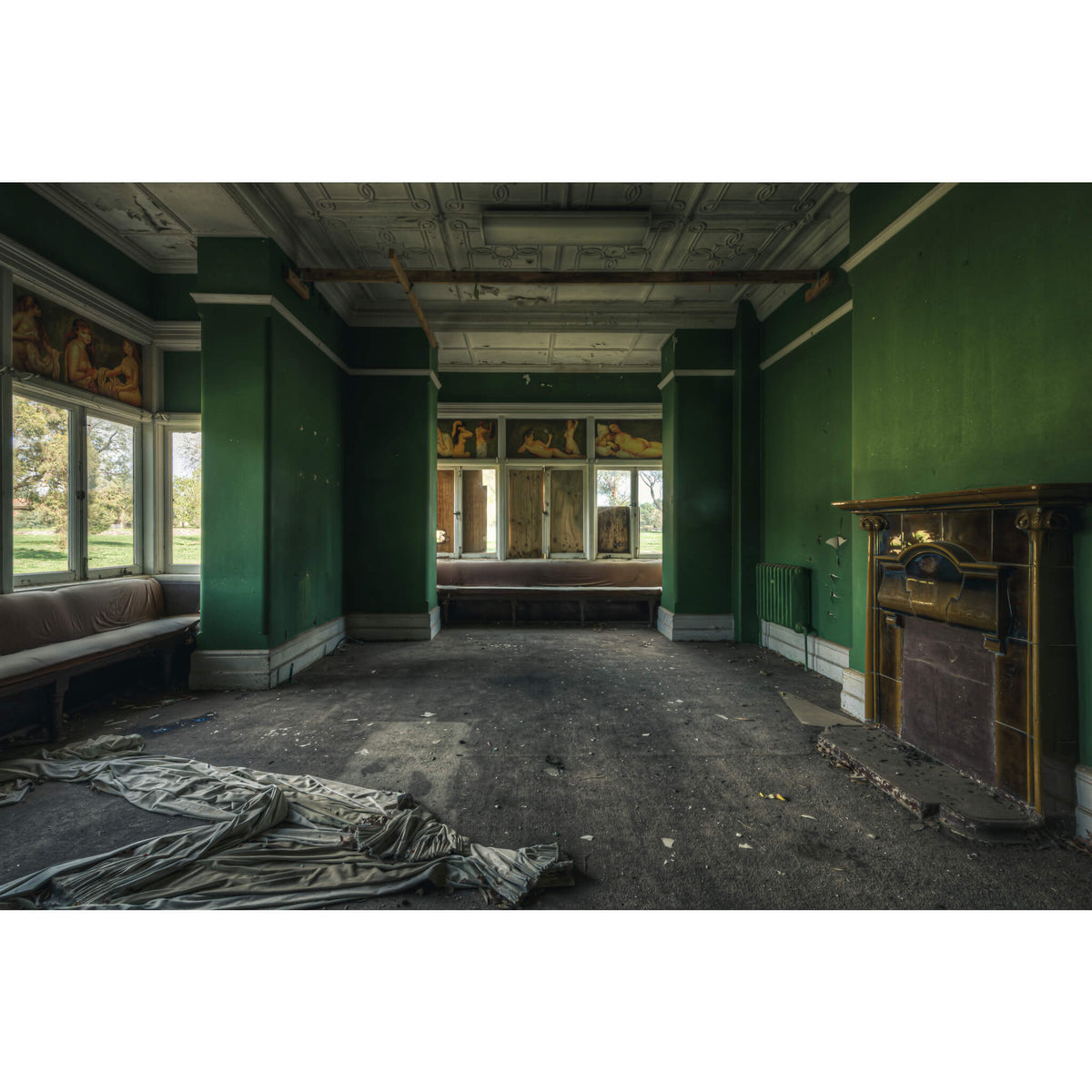 The Green Room | The Asylum Fine Art Print - Lost Collective Shop