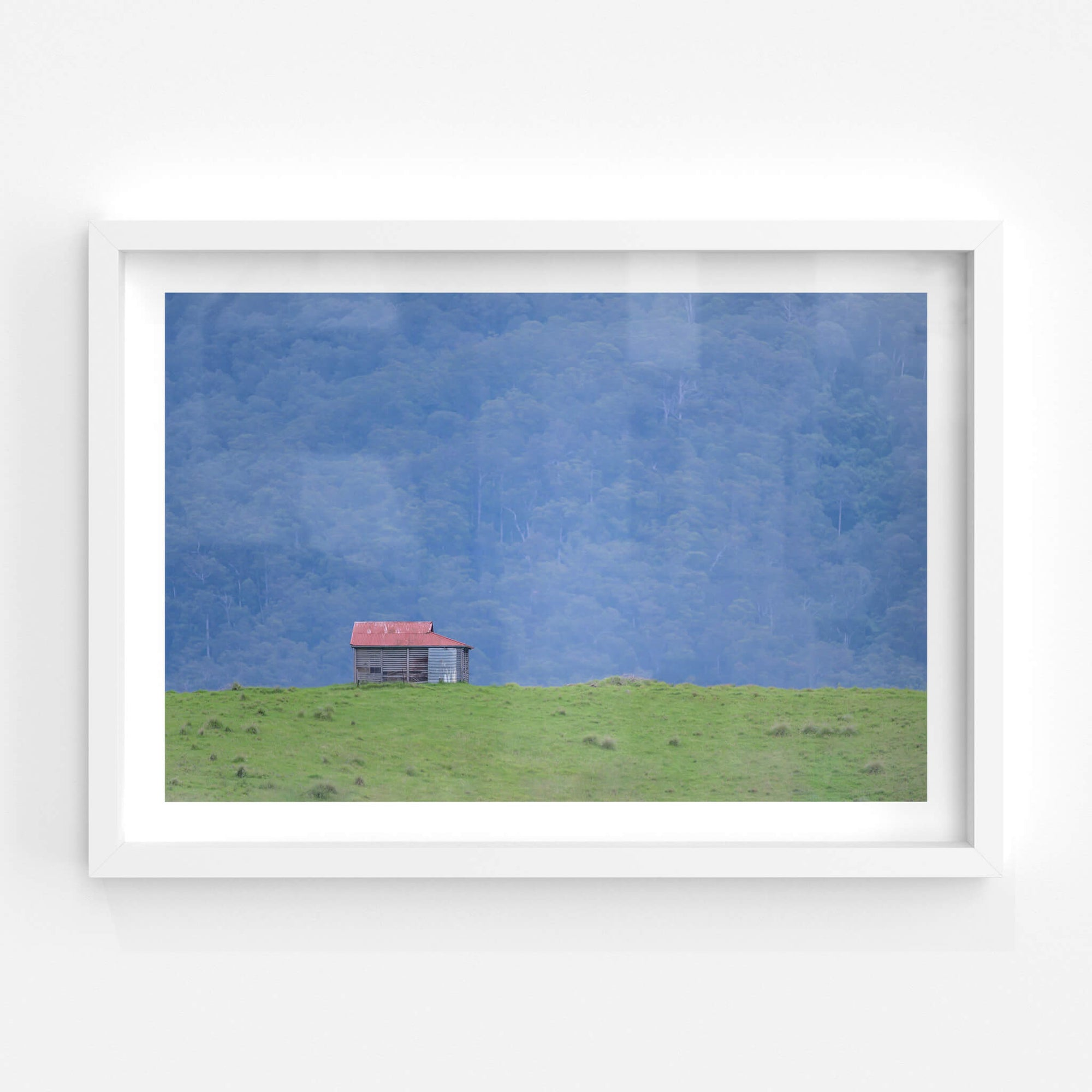 Brown Mountain Backdrop | The Dairy Fine Art Print - Lost Collective Shop