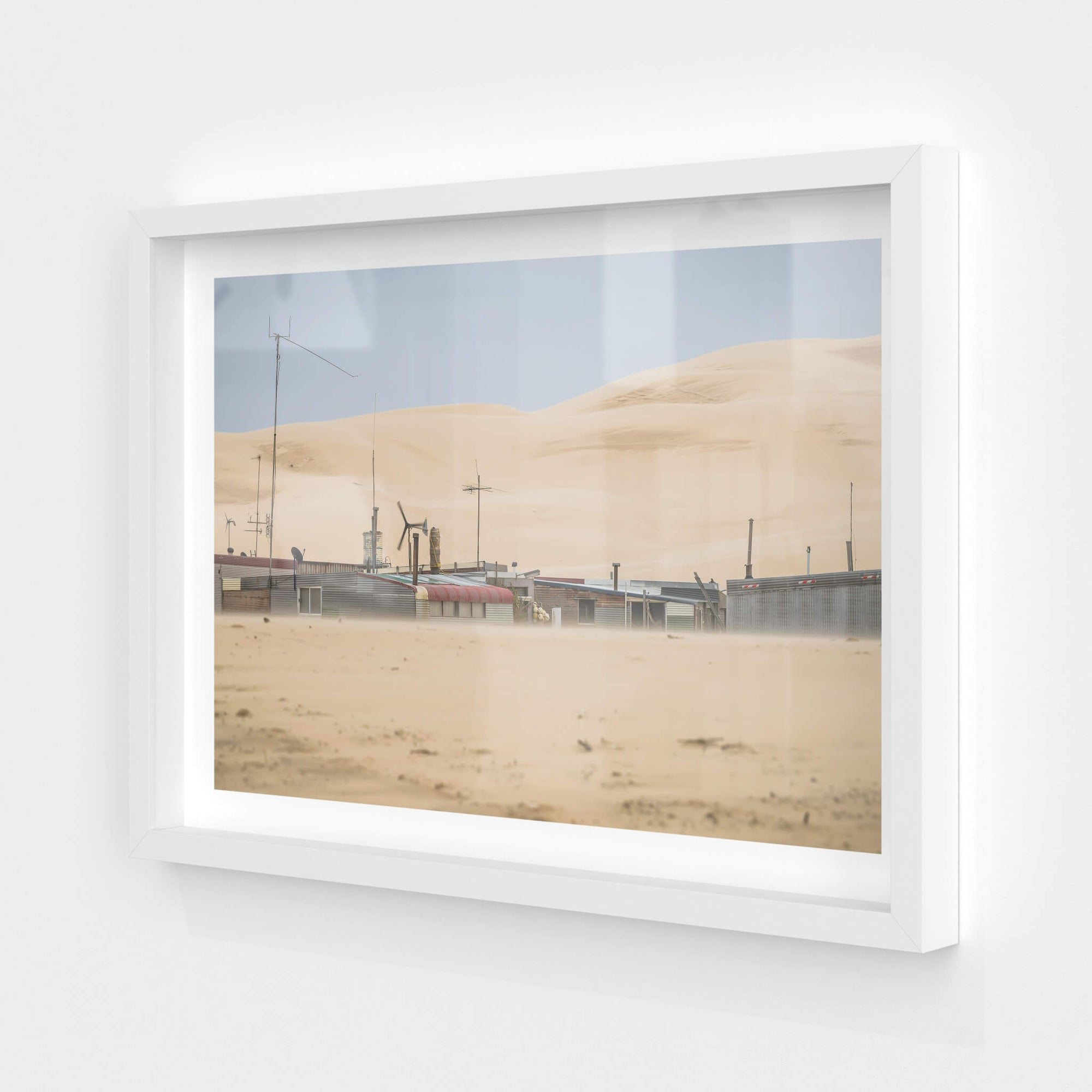 Aerials | Tin City Fine Art Print - Lost Collective Shop