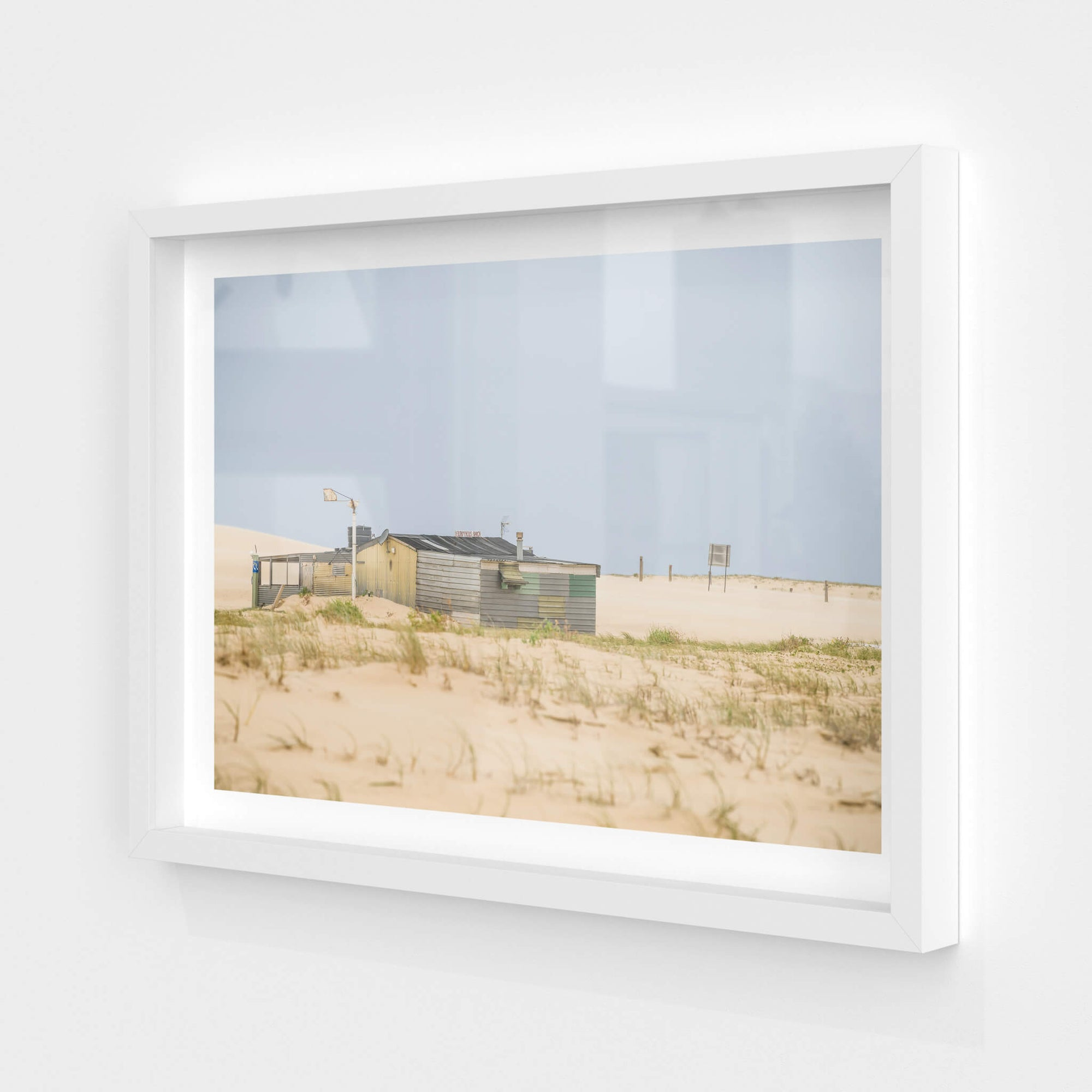 Back of the Ranch | Tin City Fine Art Print - Lost Collective Shop