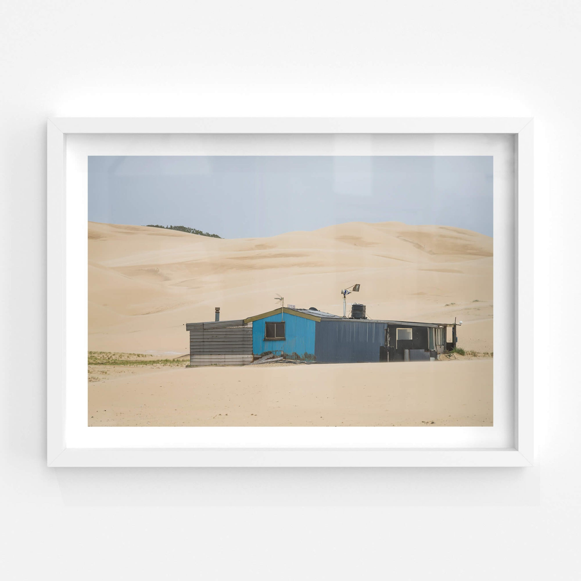 Beneath the Dunes | Tin City Fine Art Print - Lost Collective Shop