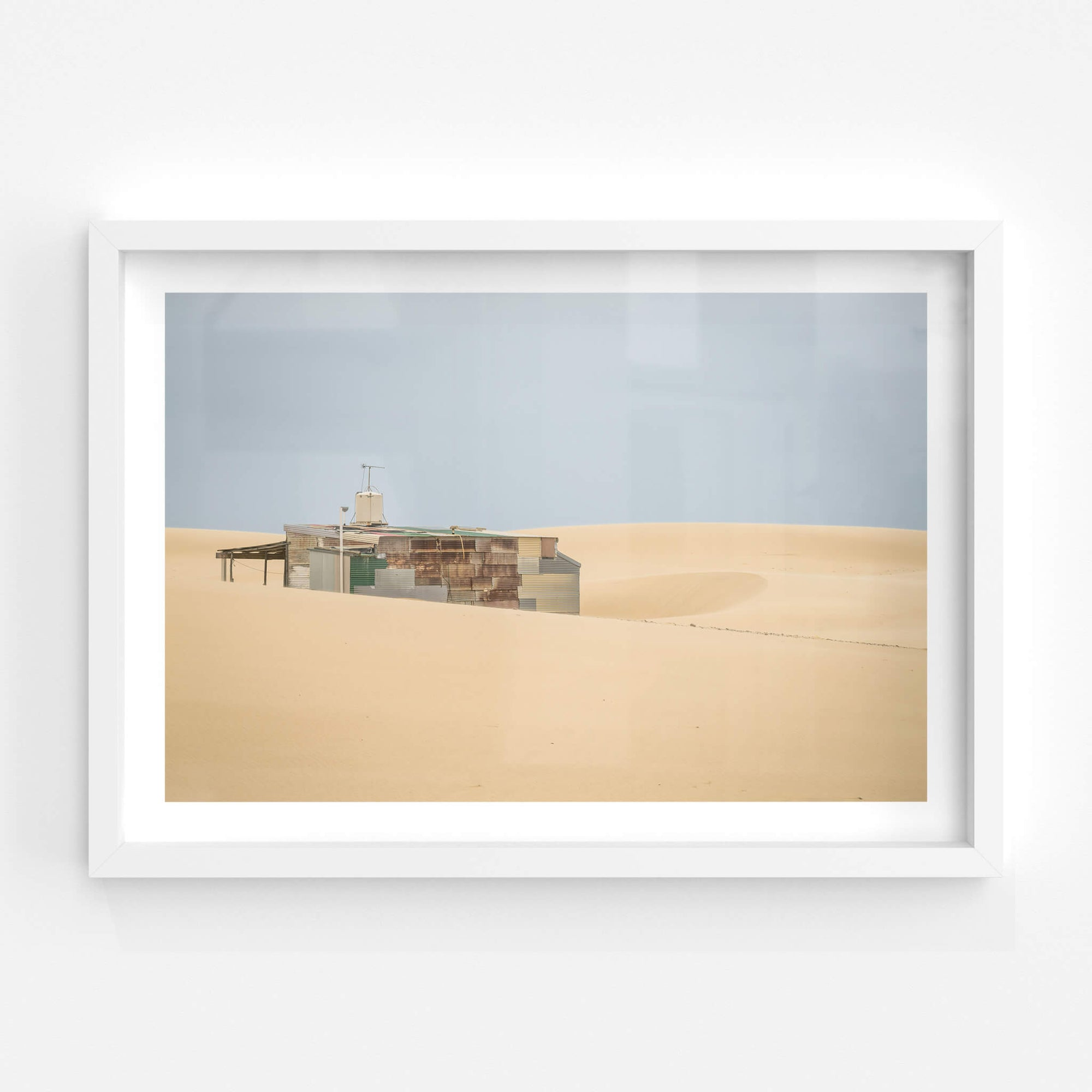 Buried | Tin City Fine Art Print - Lost Collective Shop