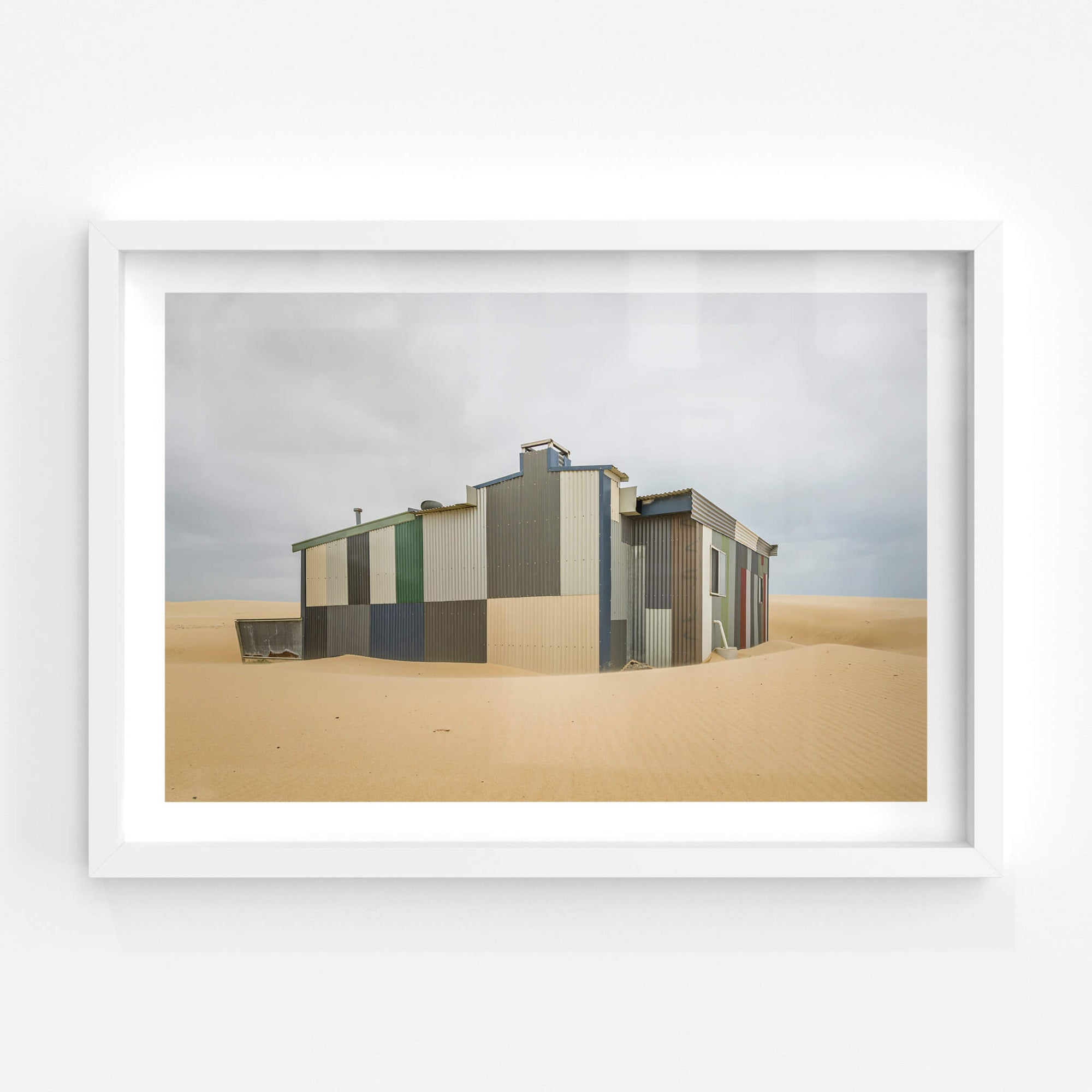 Colorbond | Tin City Fine Art Print - Lost Collective Shop