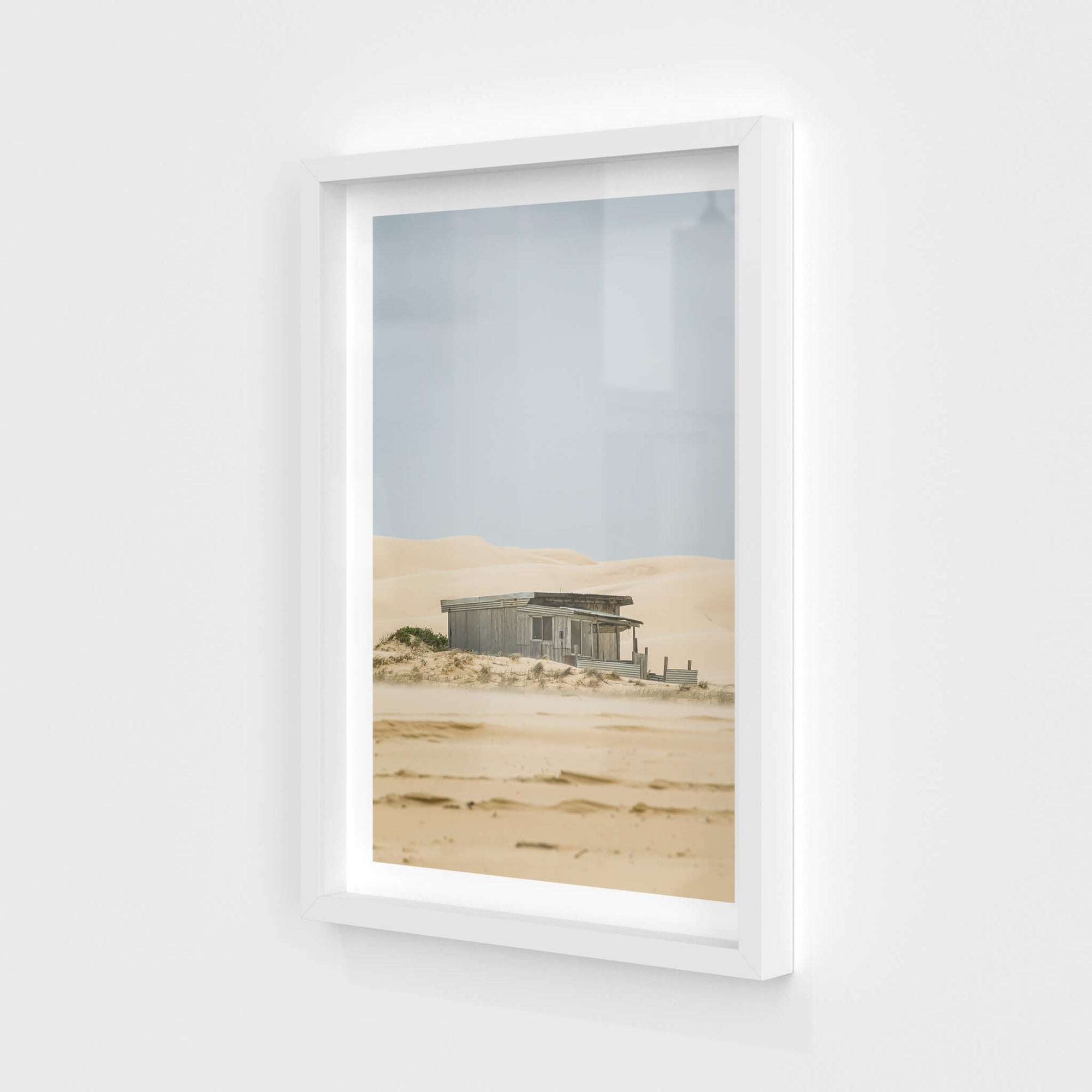 Deserted | Tin City Fine Art Print - Lost Collective Shop