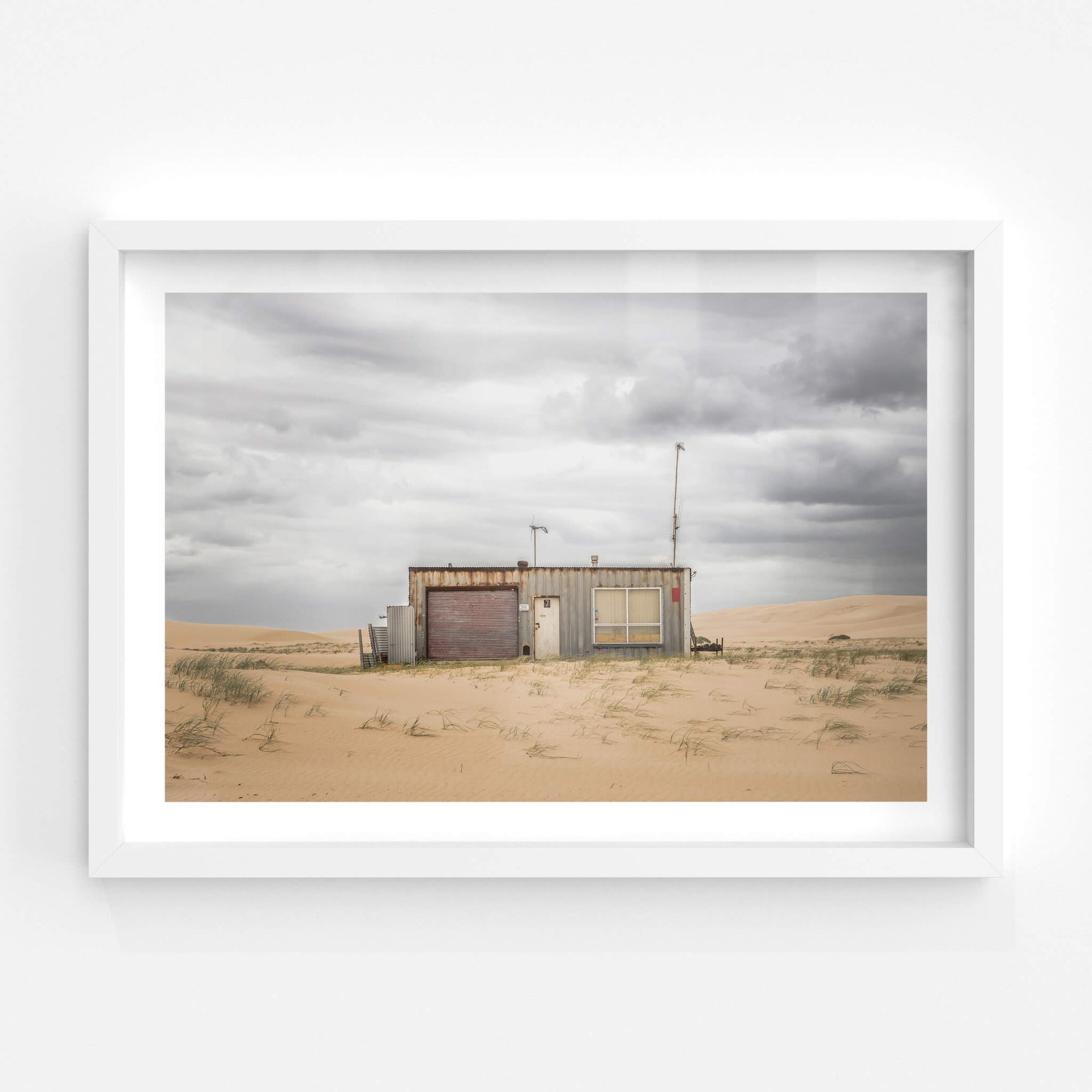 Seven | Tin City Fine Art Print - Lost Collective Shop