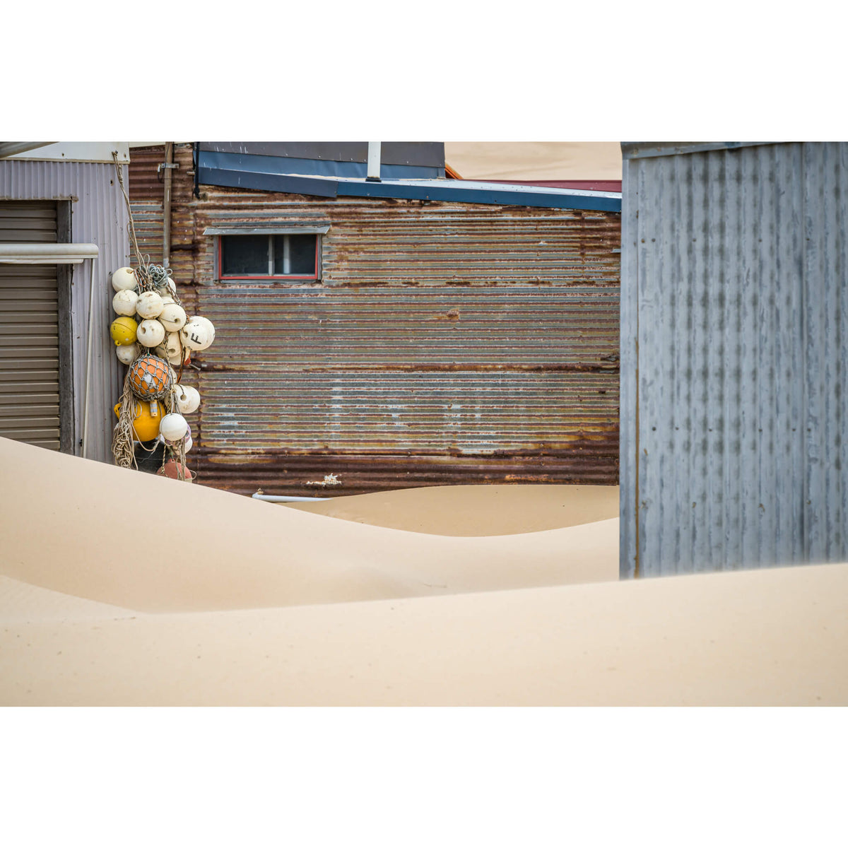 The Alleyway | Tin City Fine Art Print - Lost Collective Shop