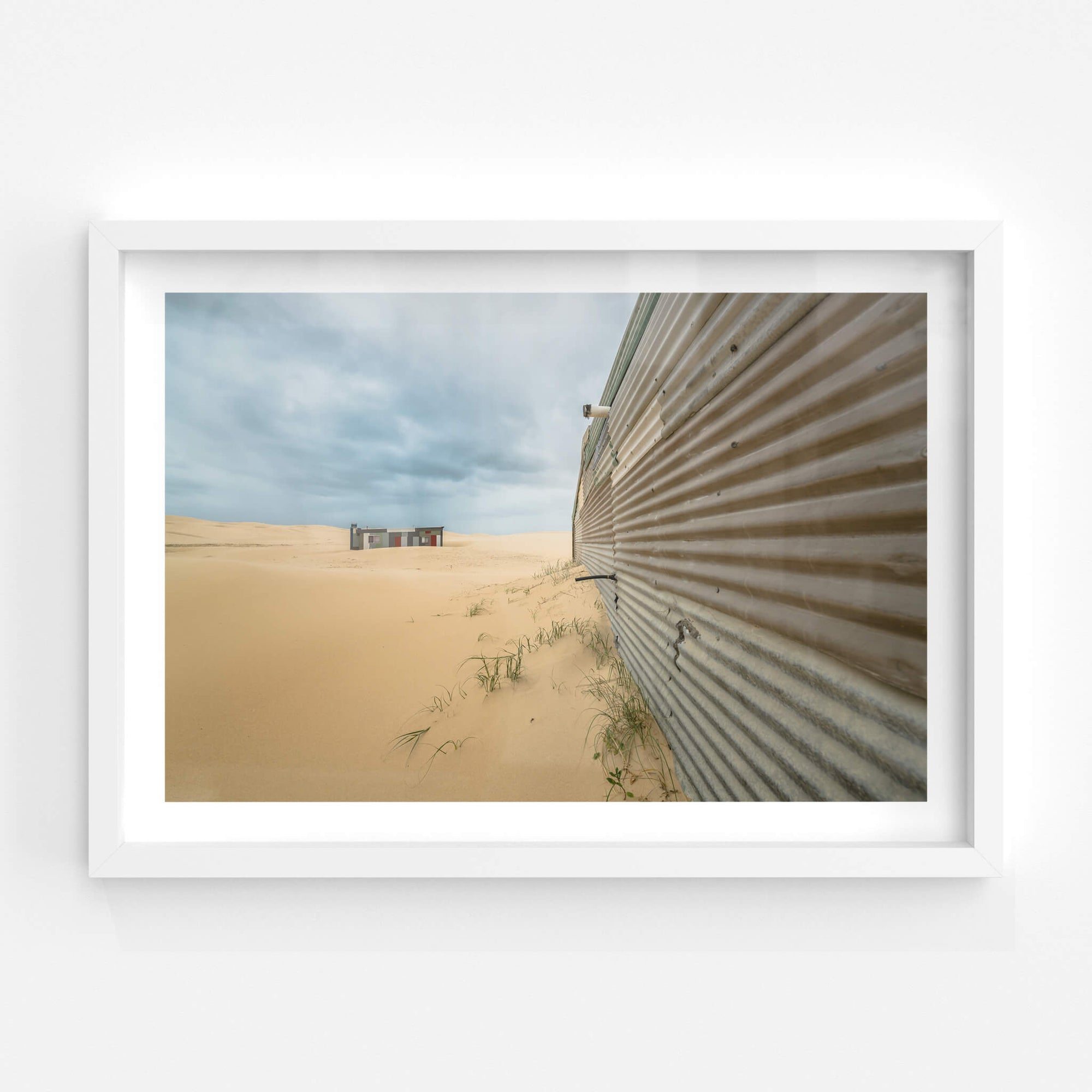 The Wall | Tin City Fine Art Print - Lost Collective Shop