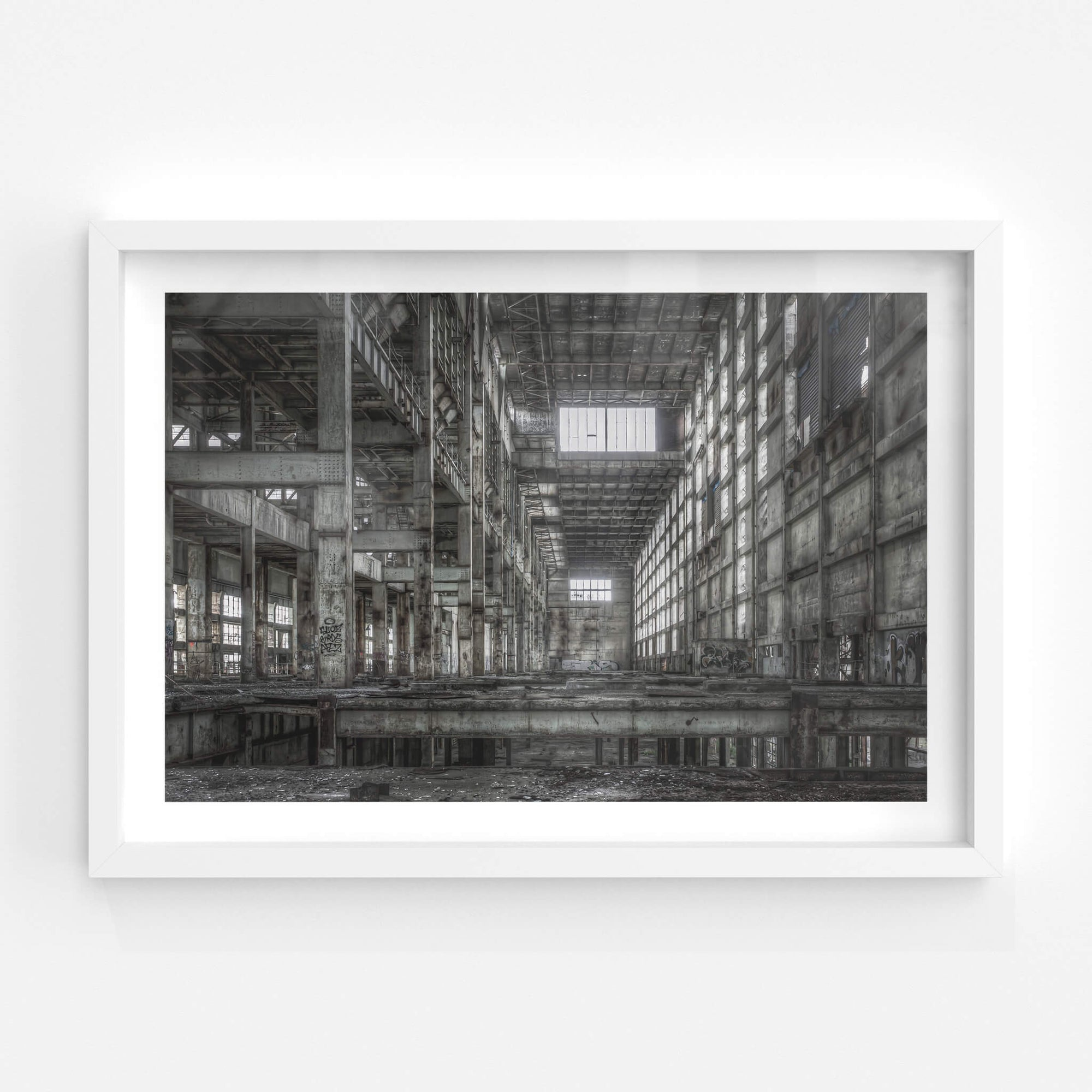 Boiler House B Station Looking Towards A | Wangi Power Station Fine Art Print - Lost Collective Shop