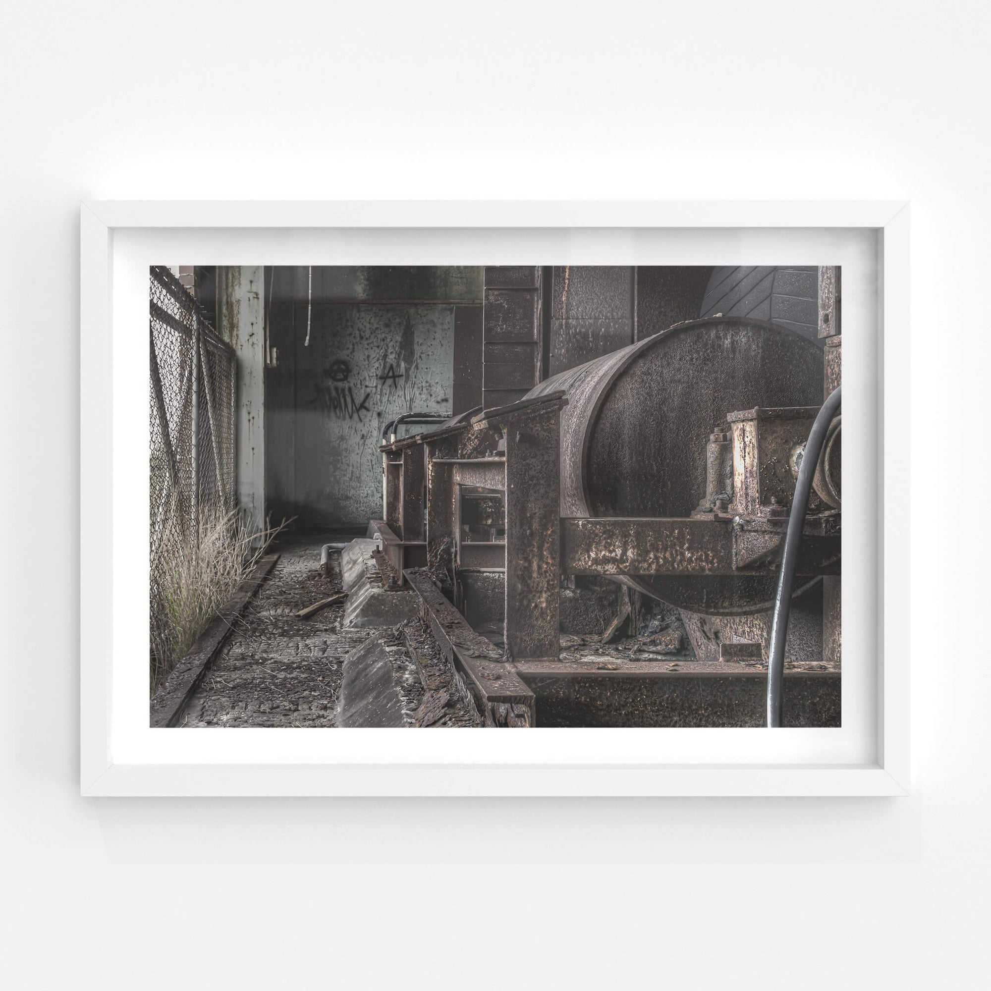 Conveyor Drive End | Wangi Power Station Fine Art Print - Lost Collective Shop