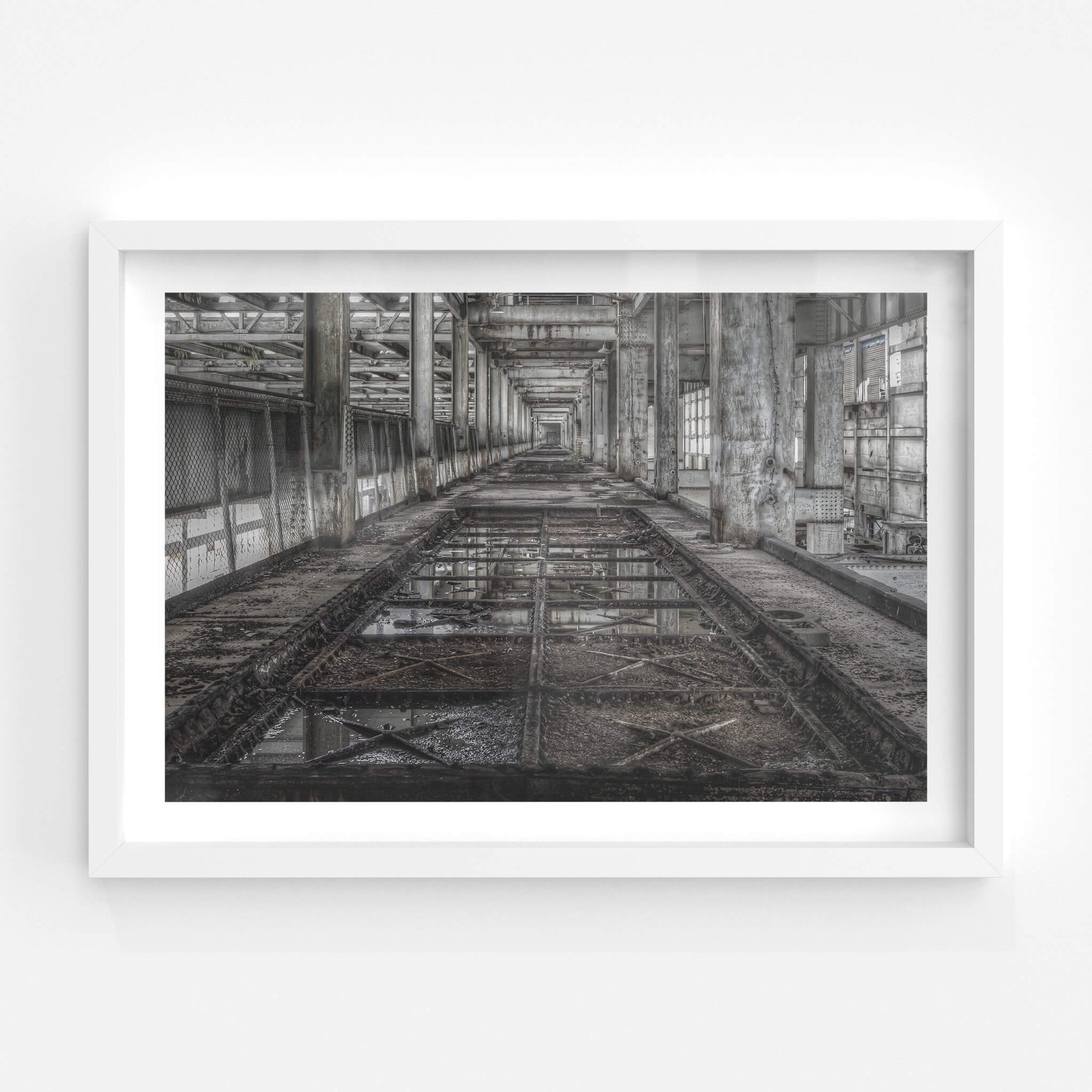 Tank Level | Wangi Power Station Fine Art Print - Lost Collective Shop