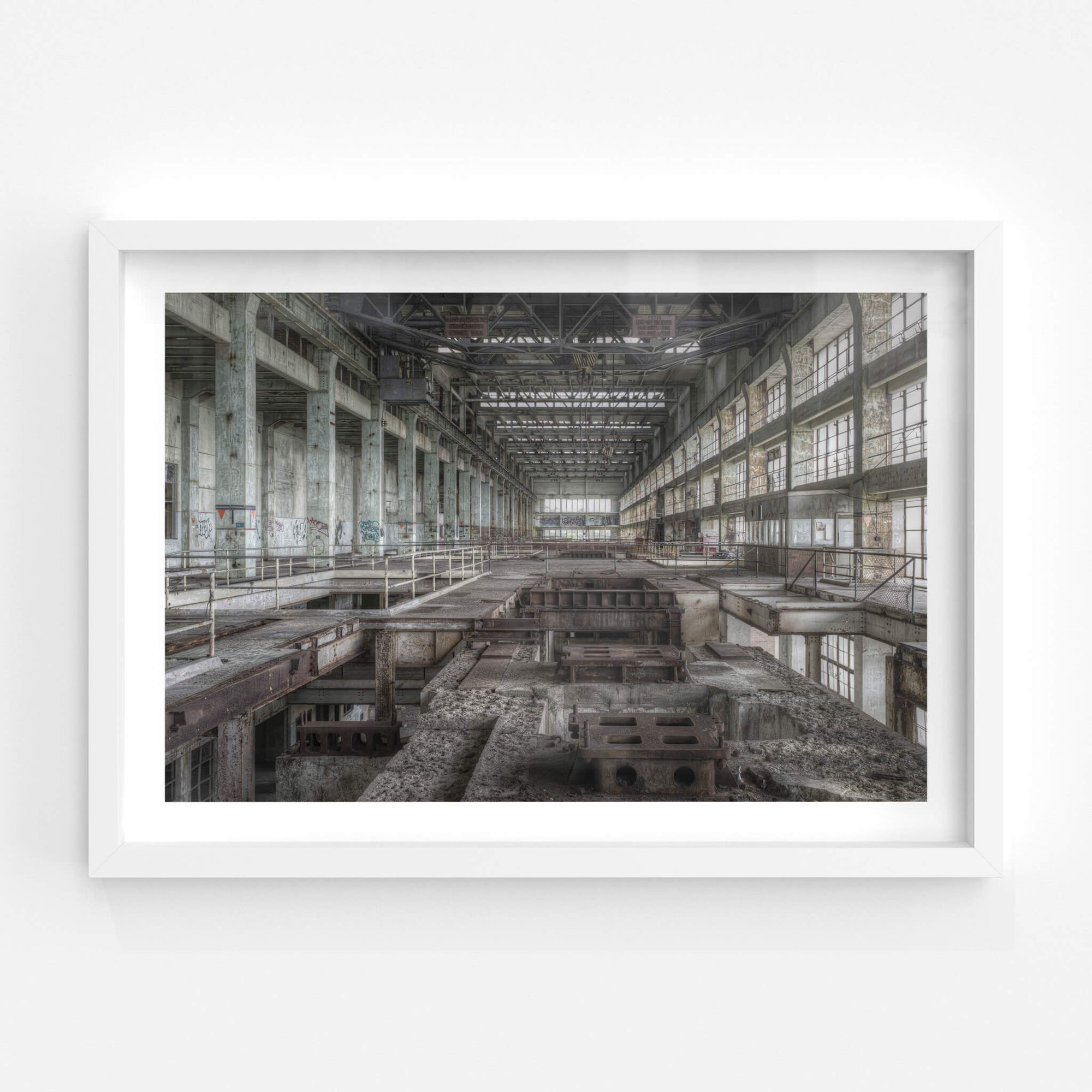 Turbine Pedestal | Wangi Power Station Fine Art Print - Lost Collective Shop